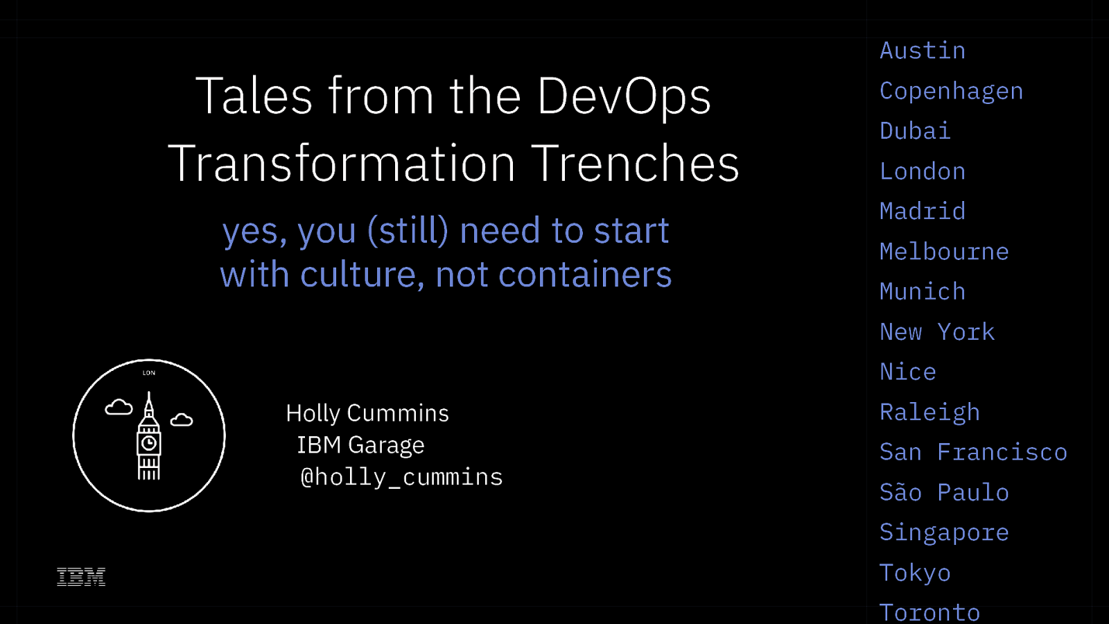 Tales From The DevOps Transformation Trenches