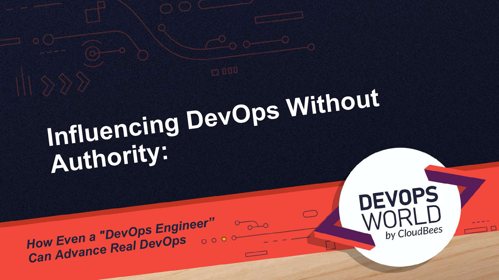 "Influencing DevOps without Authority - how ""DevOps engineer"" can advance real DevOps by Baruch Sadogursky"