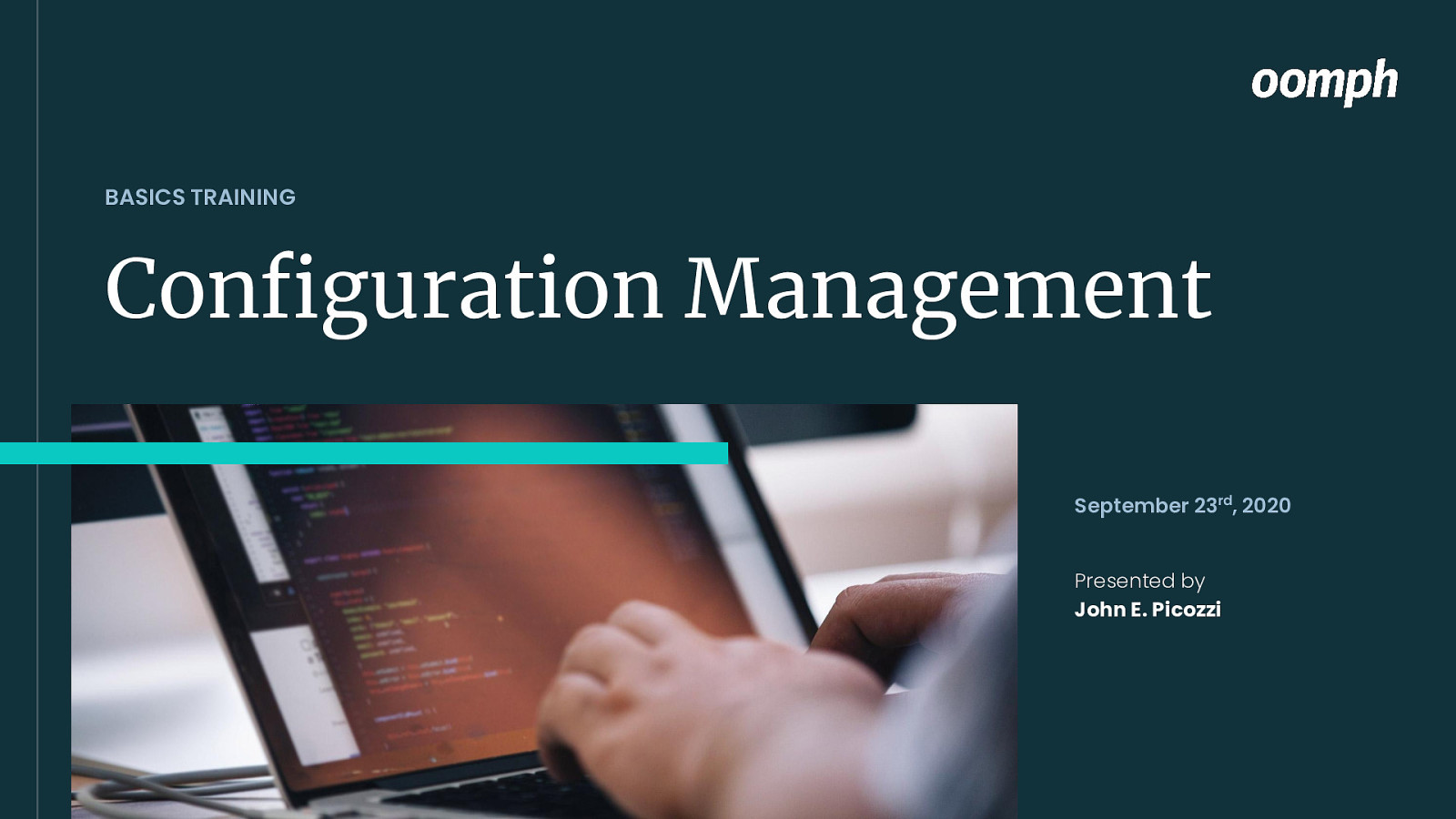 Configuration Management & Config Split Basics Training by John Picozzi