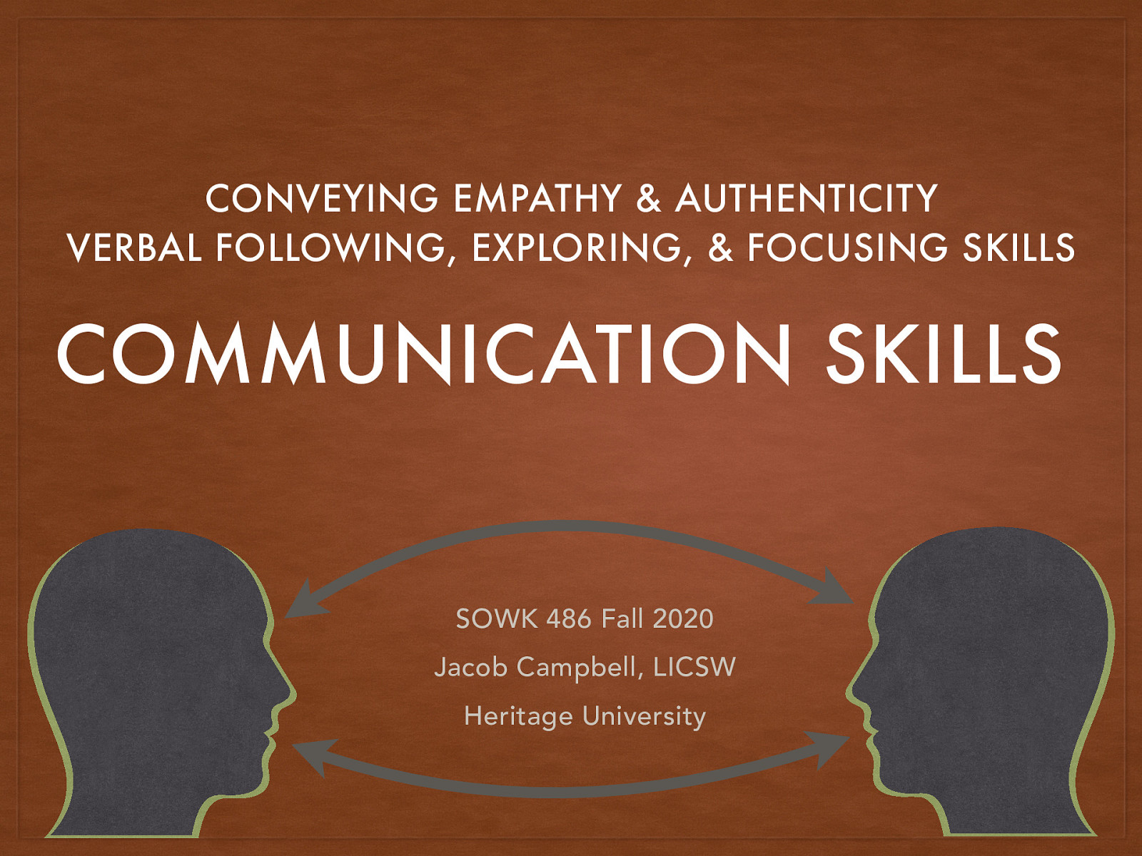 Week 06 - Communication Skills by Jacob Campbell