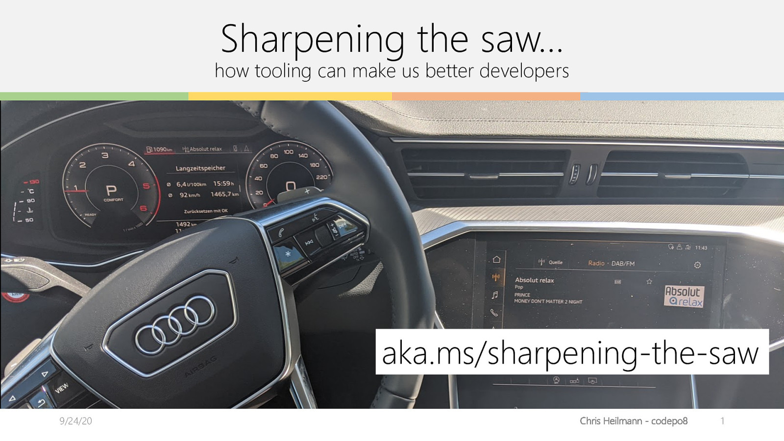 Sharpening the saw - how tooling can make you a better developer