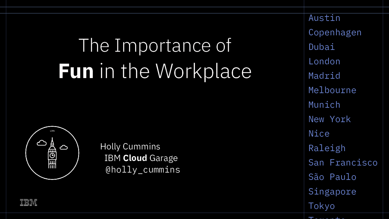 The importance of fun in the workplace (keynote)