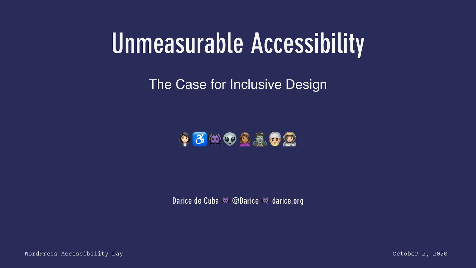 Unmeasurable Accessibility: The Case for Inclusive Design