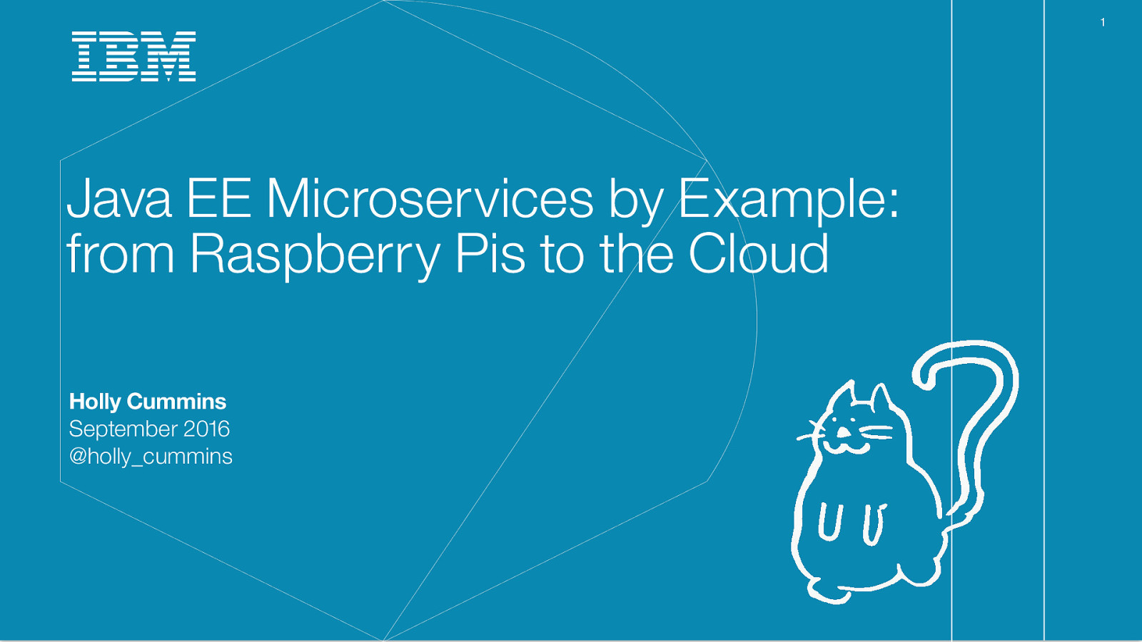 Microservices: from dream to reality in an hour