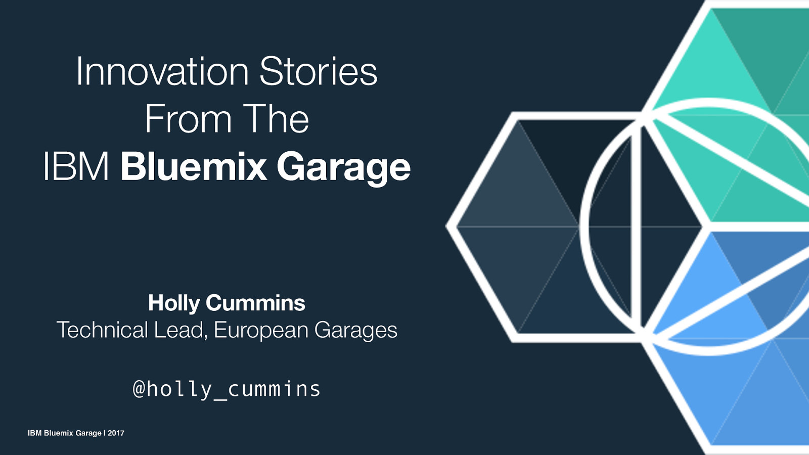 Innovation Stories from the Bluemix Garage