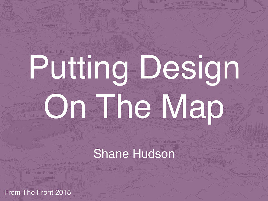 Putting Design On The Map