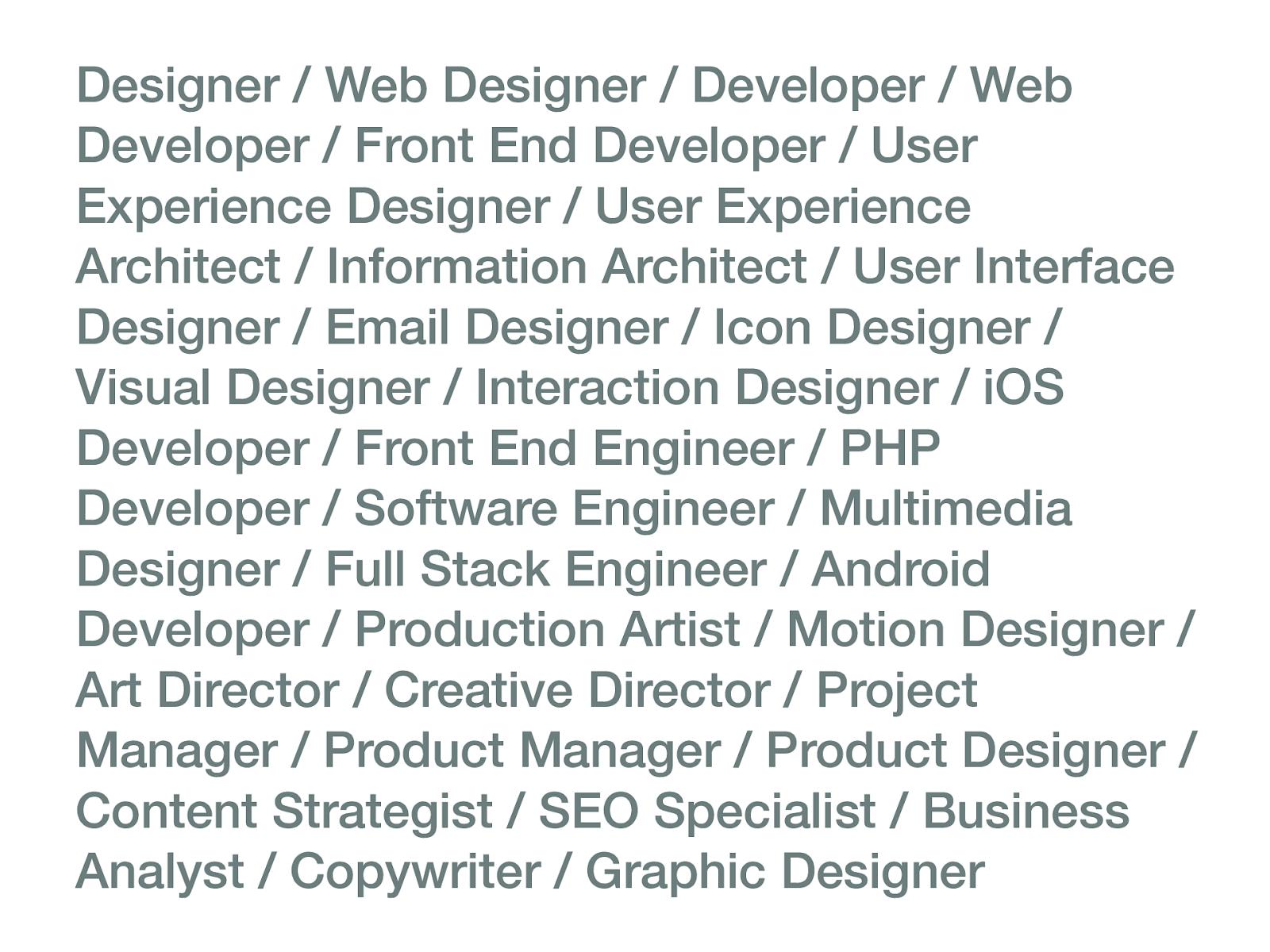 Post-revolutionary web design