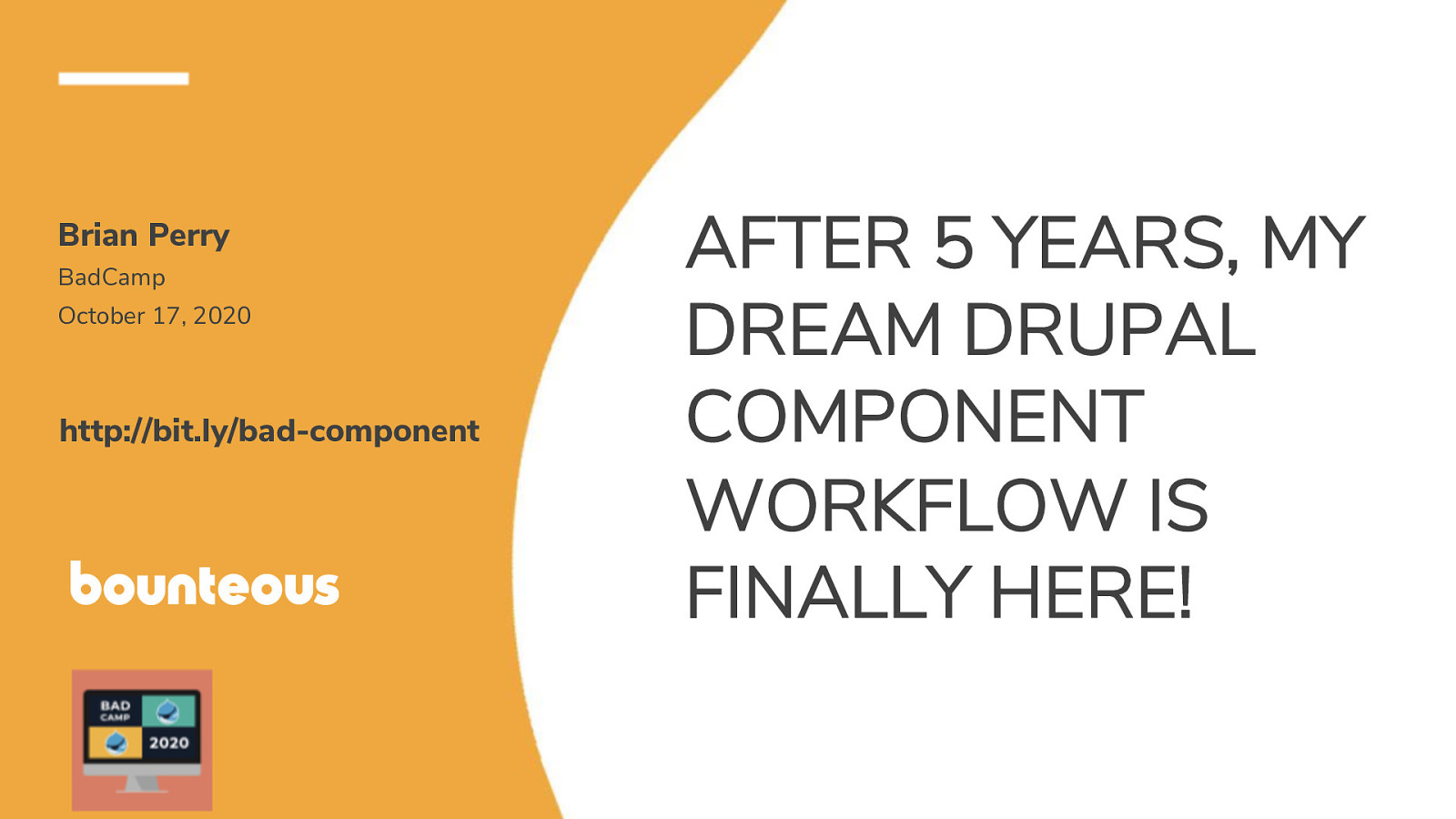 After 5 years, my dream Drupal component workflow is finally here!