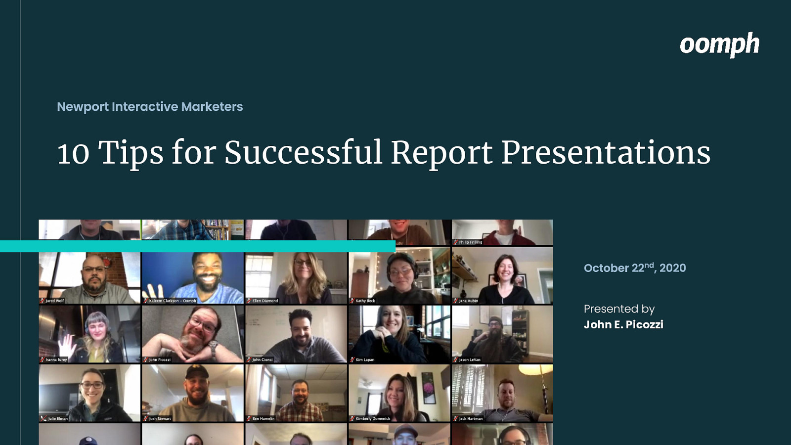 10 Tips for Successful Remote Presentations
