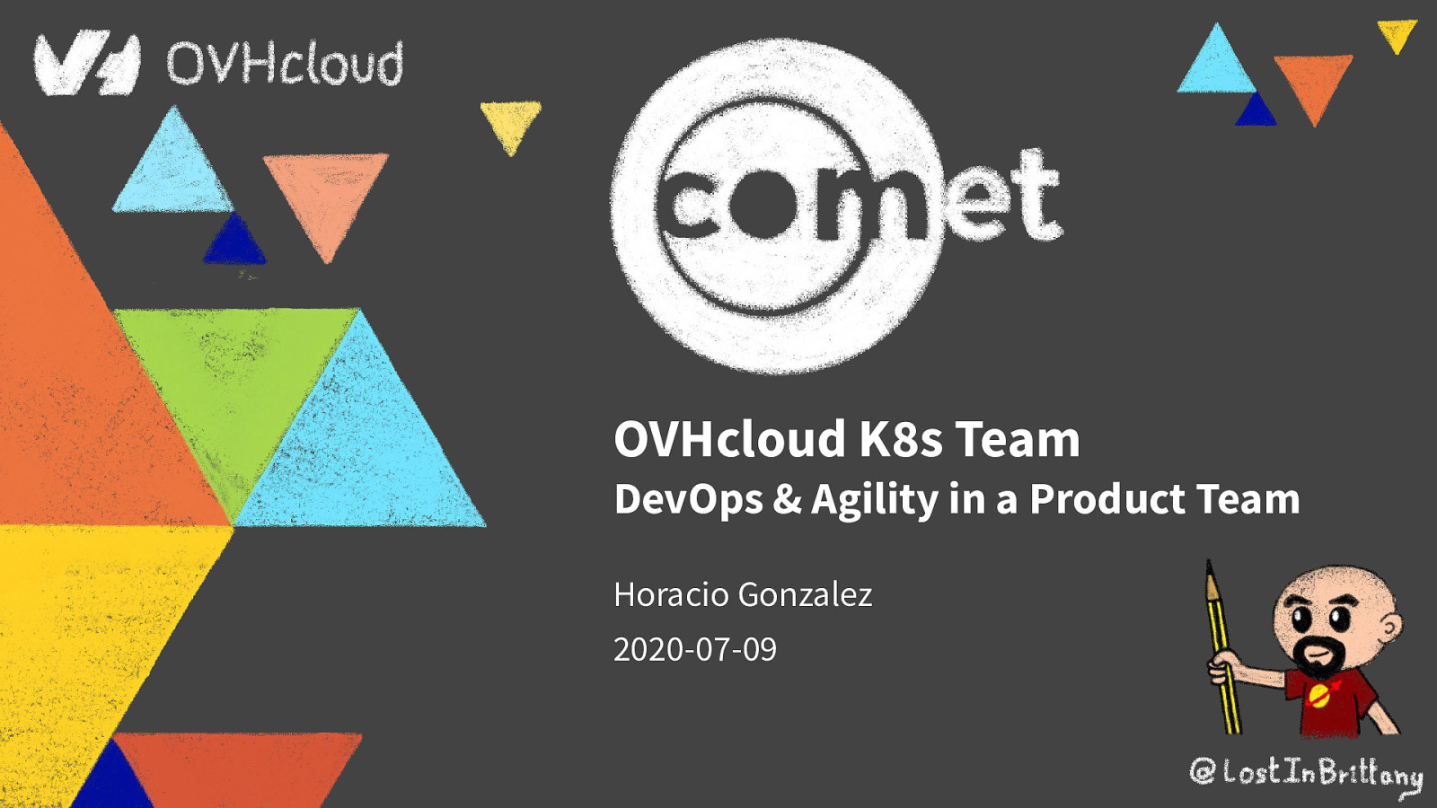 OVHcloud K8s Team: DevOps & Agility in a Product Team