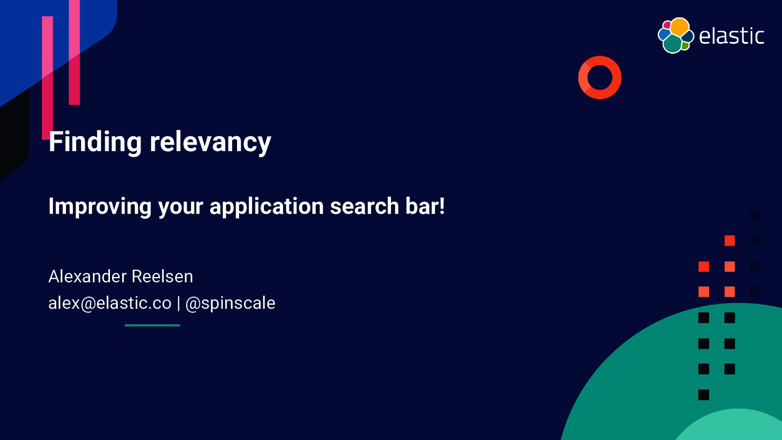 Finding relevancy: Improving your application search bar!