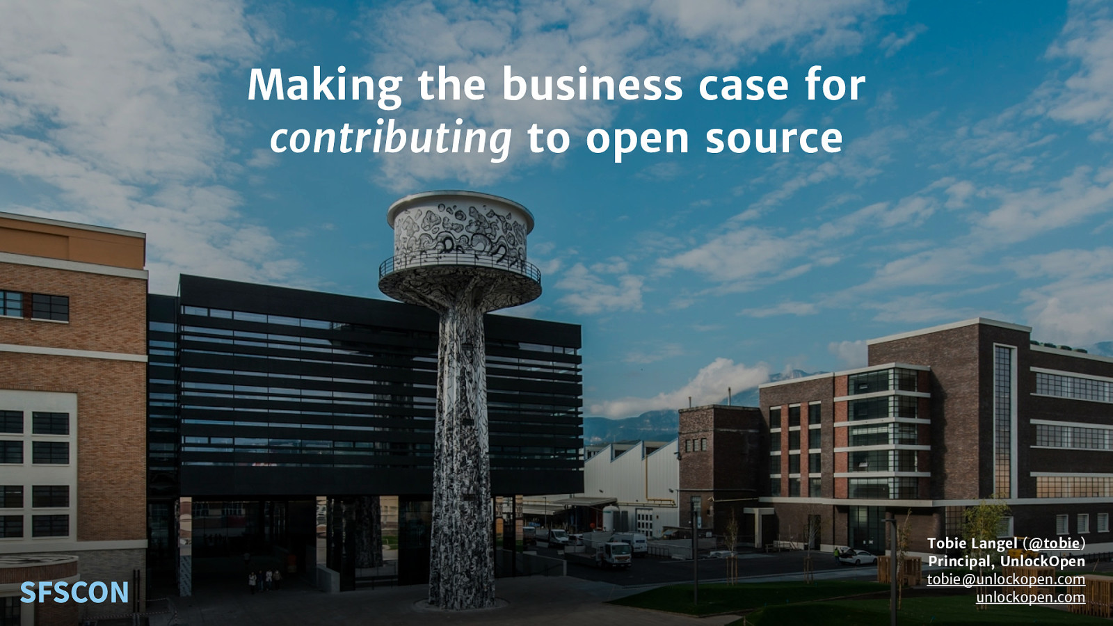 Making the business case for contributing to open source