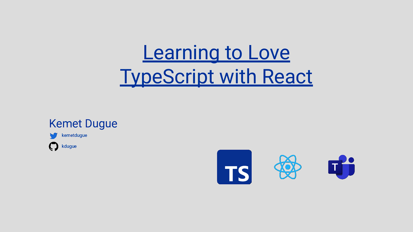 Learning to Love TypeScript with React