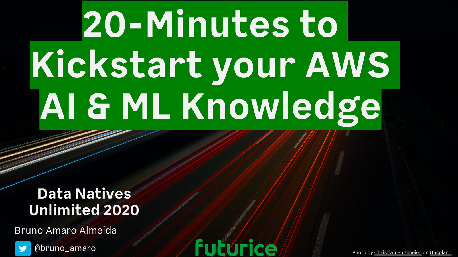 20-Minutes to Kickstart your AWS AI & ML Knowledge