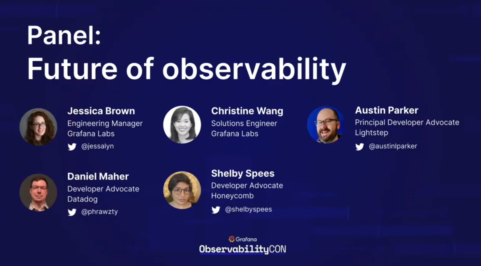 Panel: Future of Observability