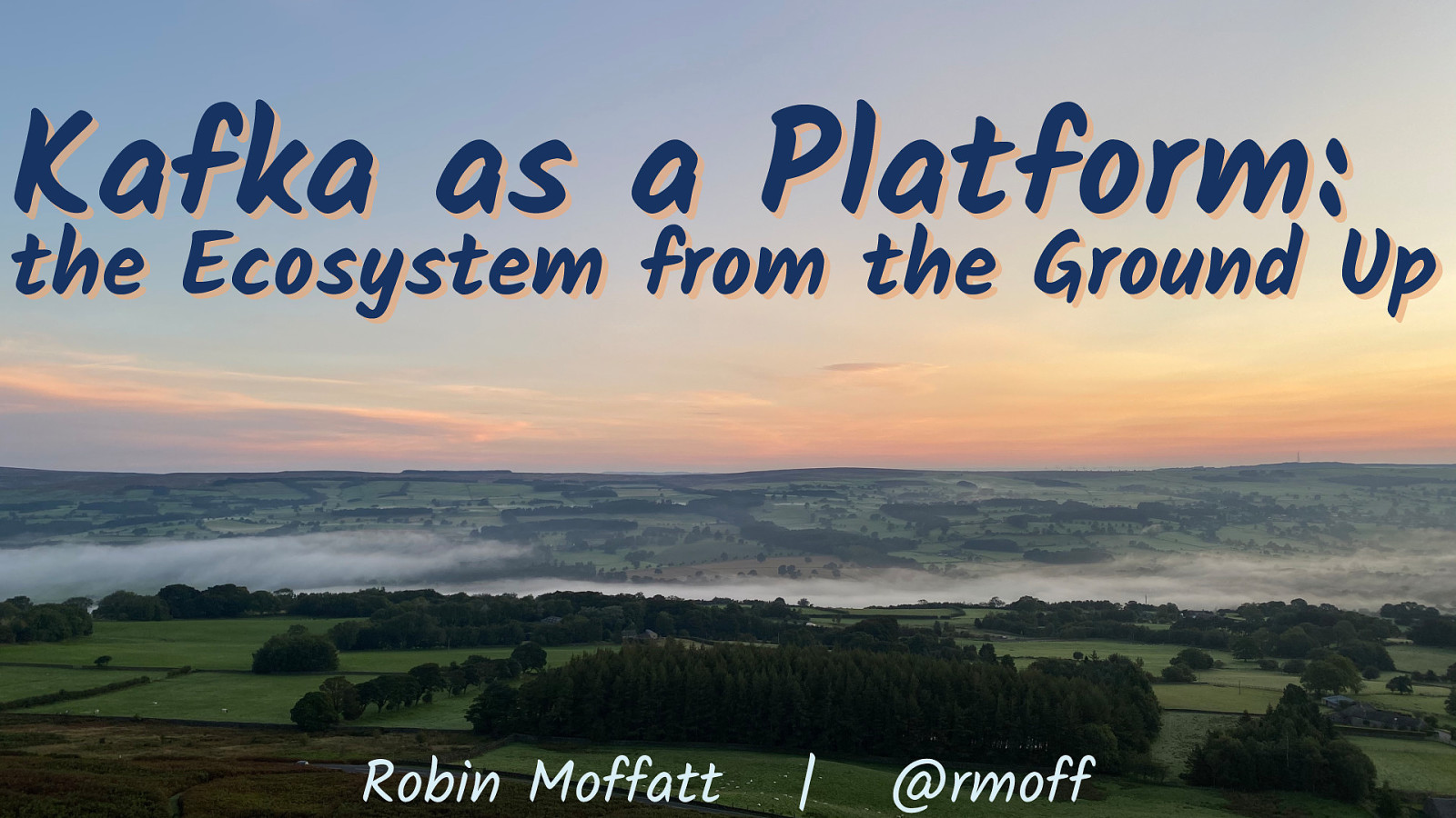 Kafka as a Platform: the Ecosystem from the Ground Up