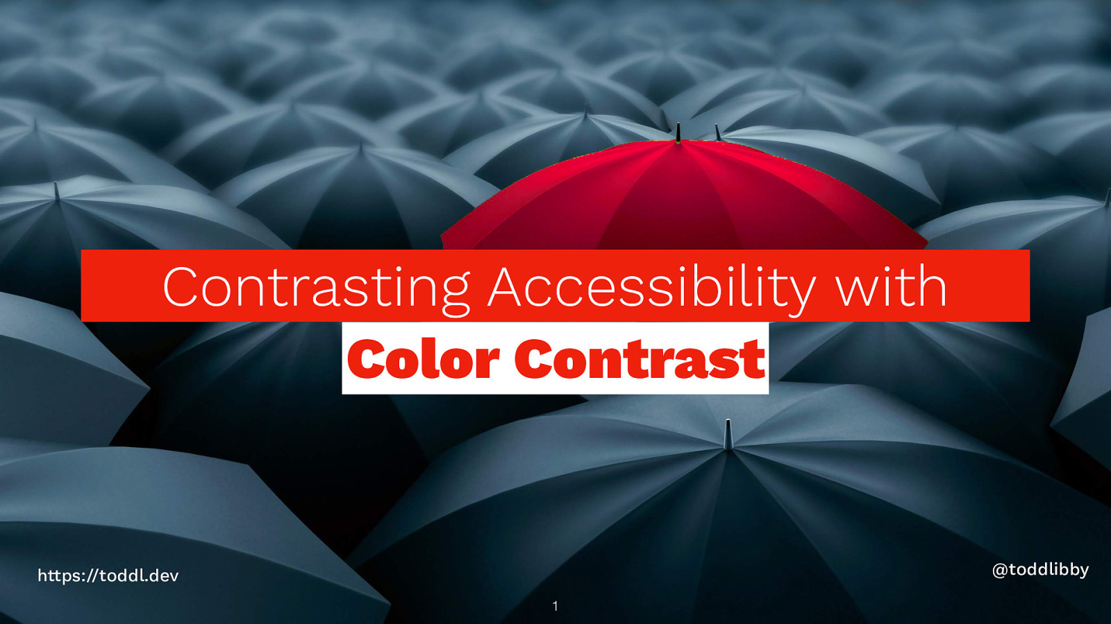 Contrasting Accessibility with Color Contrast