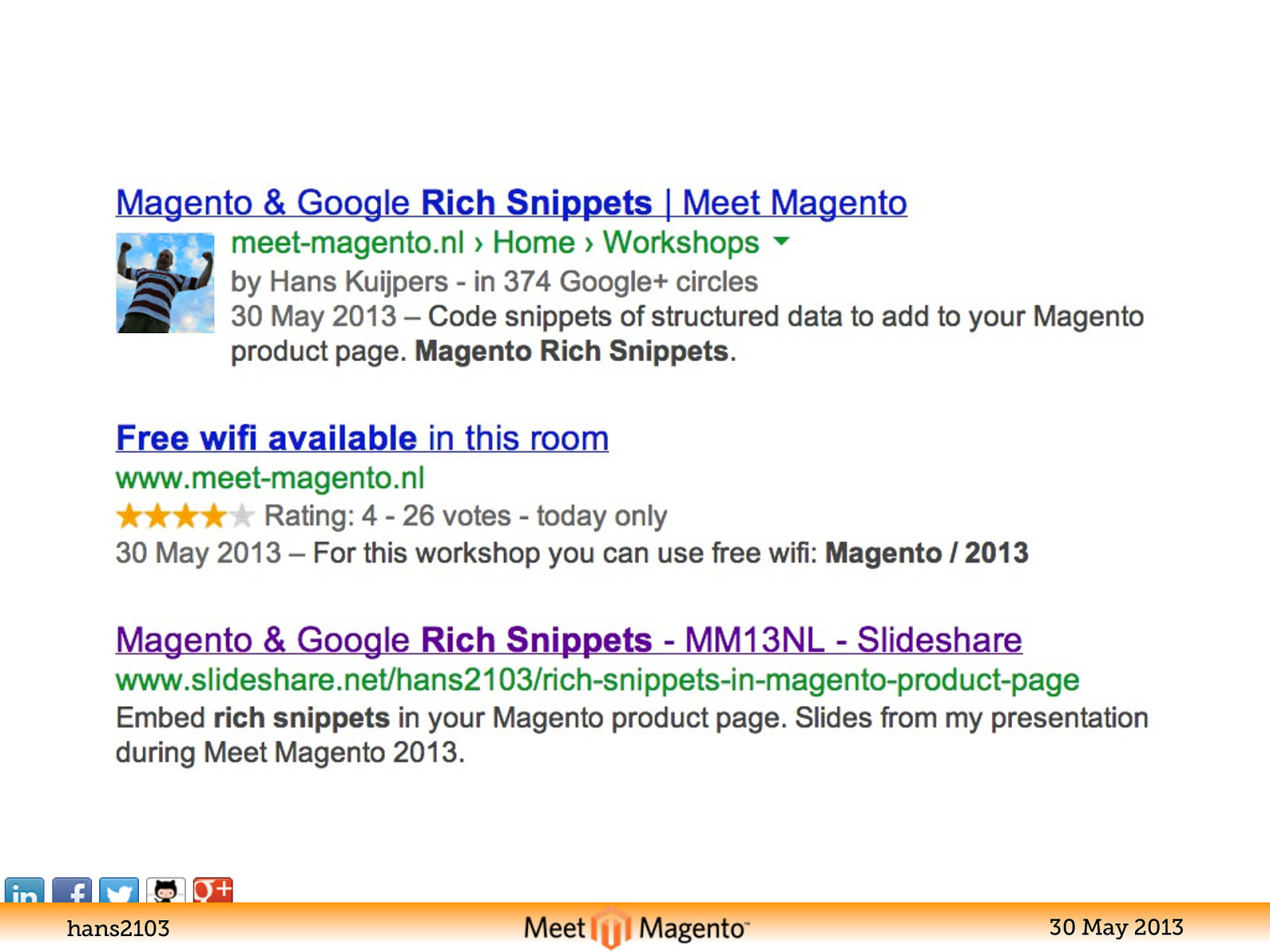 Rich Snippets in Magento product page
