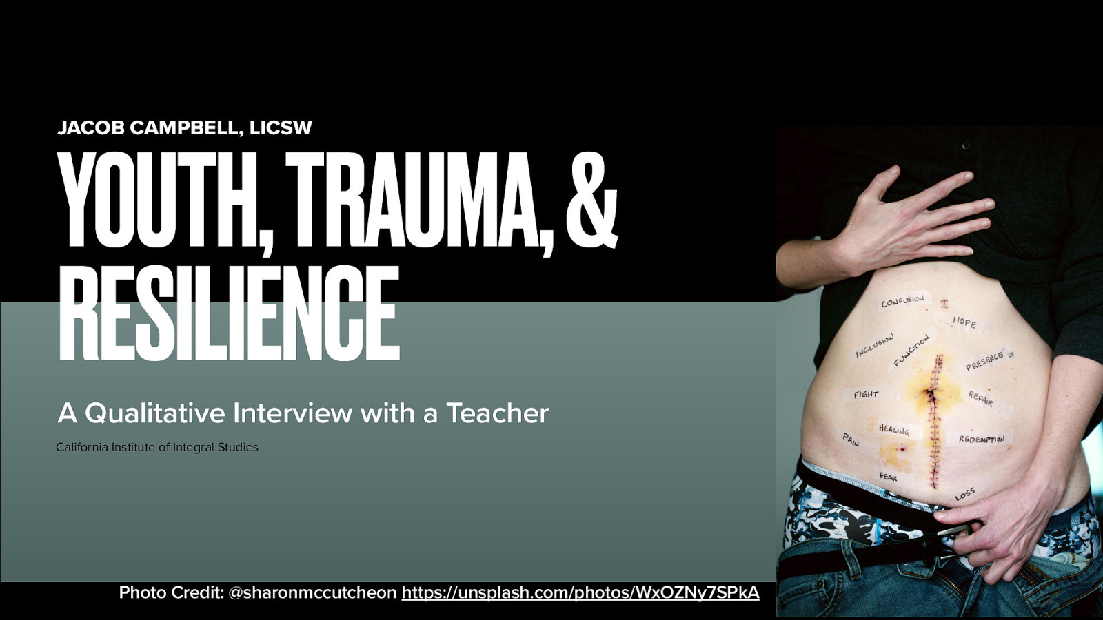 Youth, Trauma, & Resilience: A Qualitative Interview with a Teacher