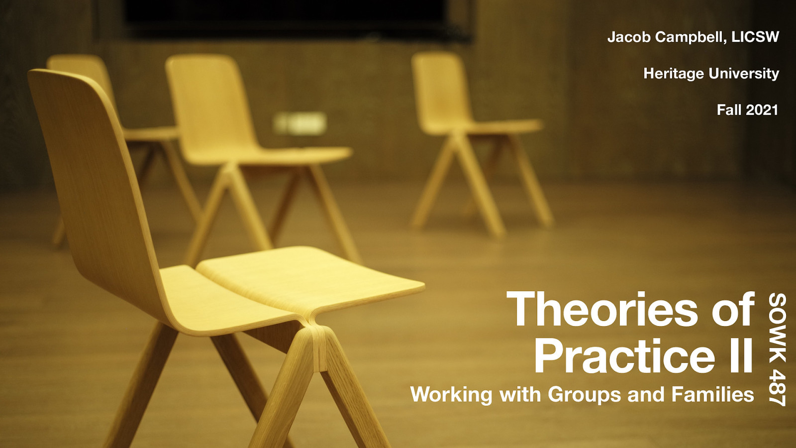 Theories of Practice II, Course Introduction