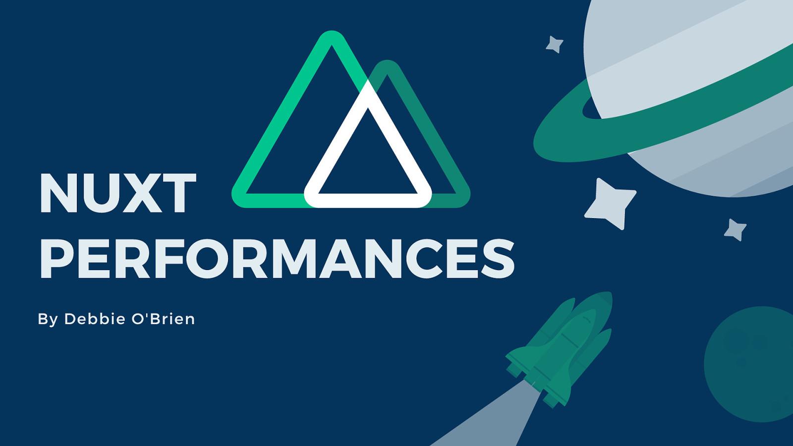 Nuxt Performances