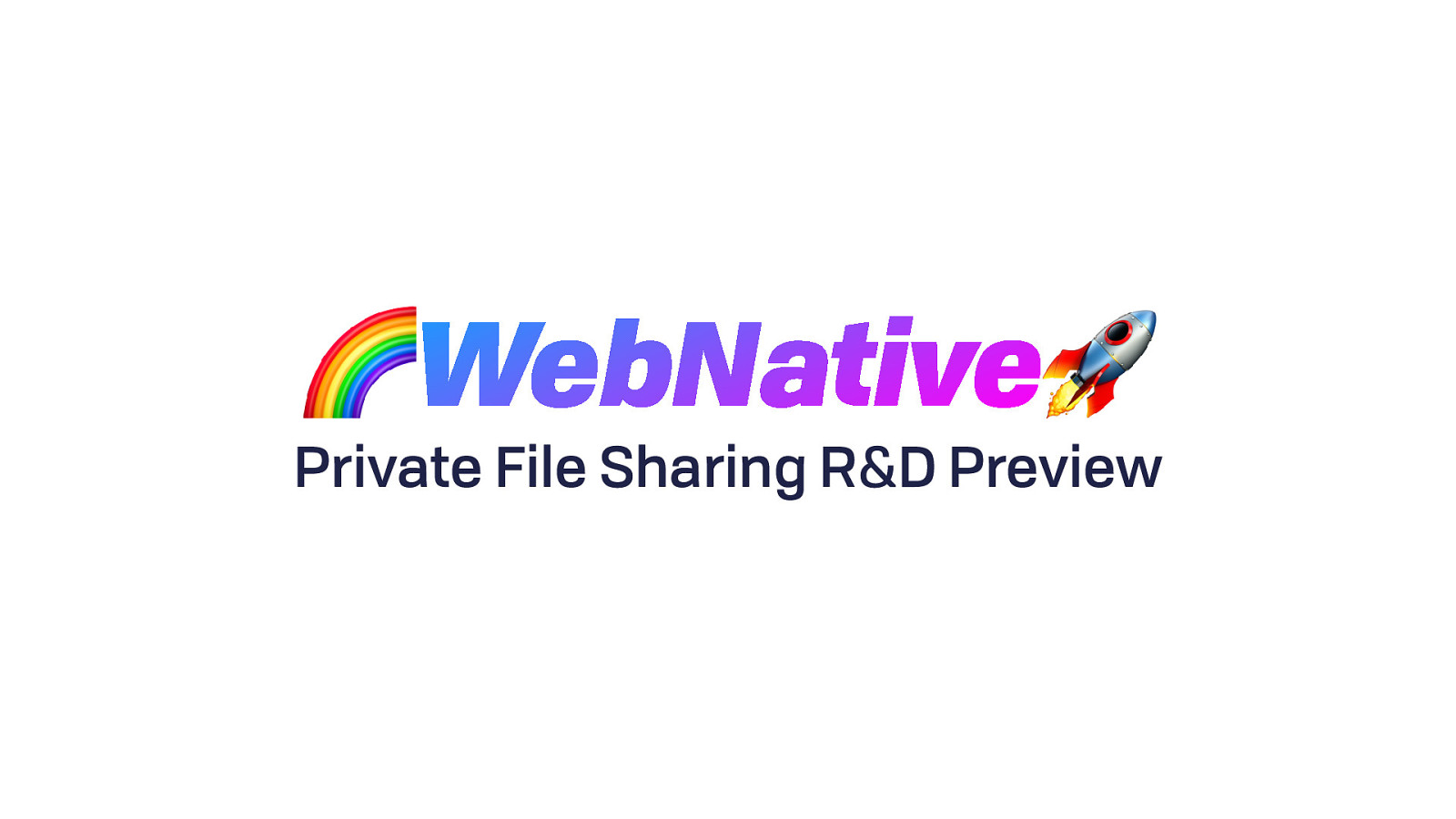 WNFS Private File Sharing Preview