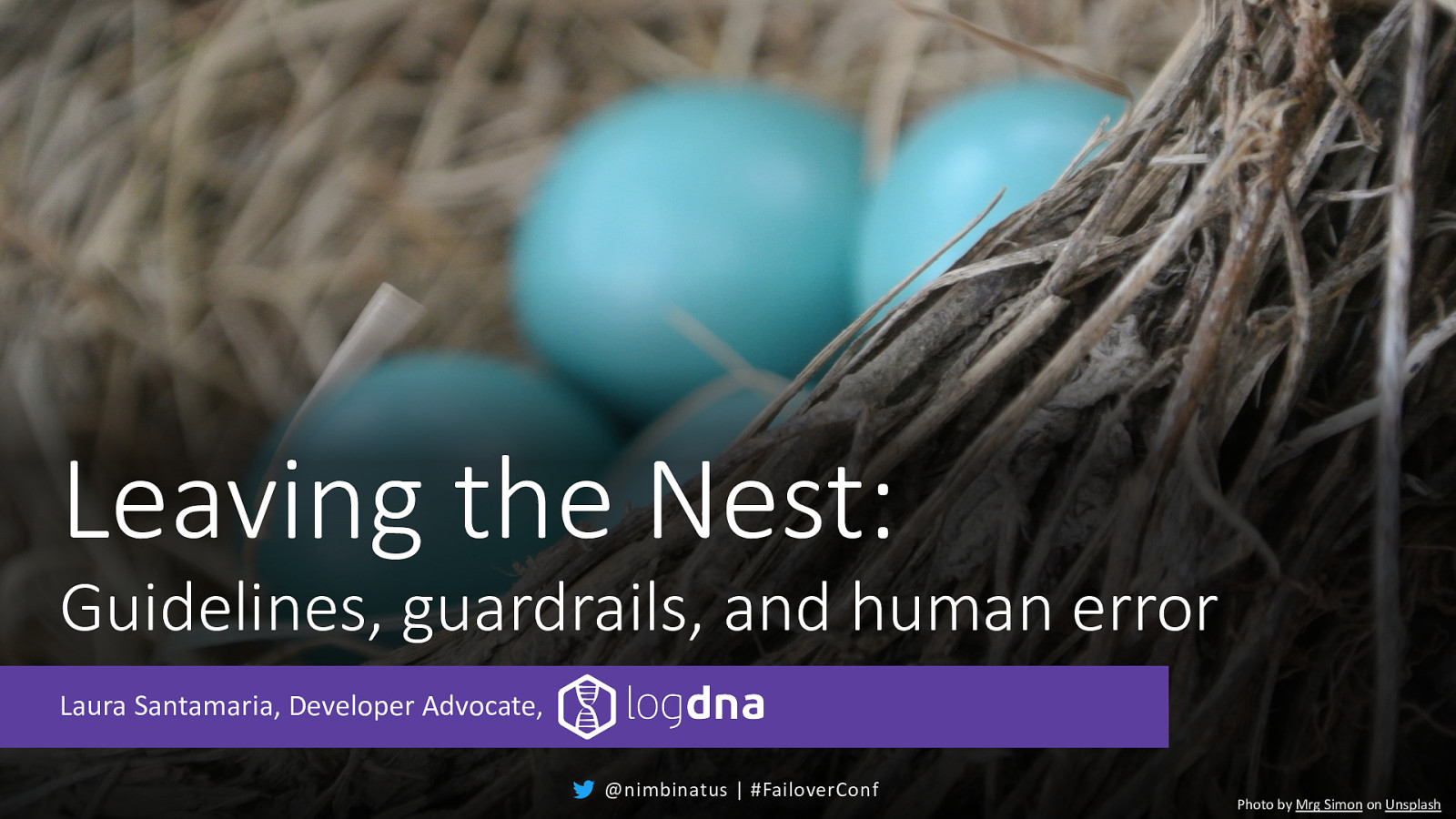 Leaving the Nest: Guidelines, guardrails, and human error