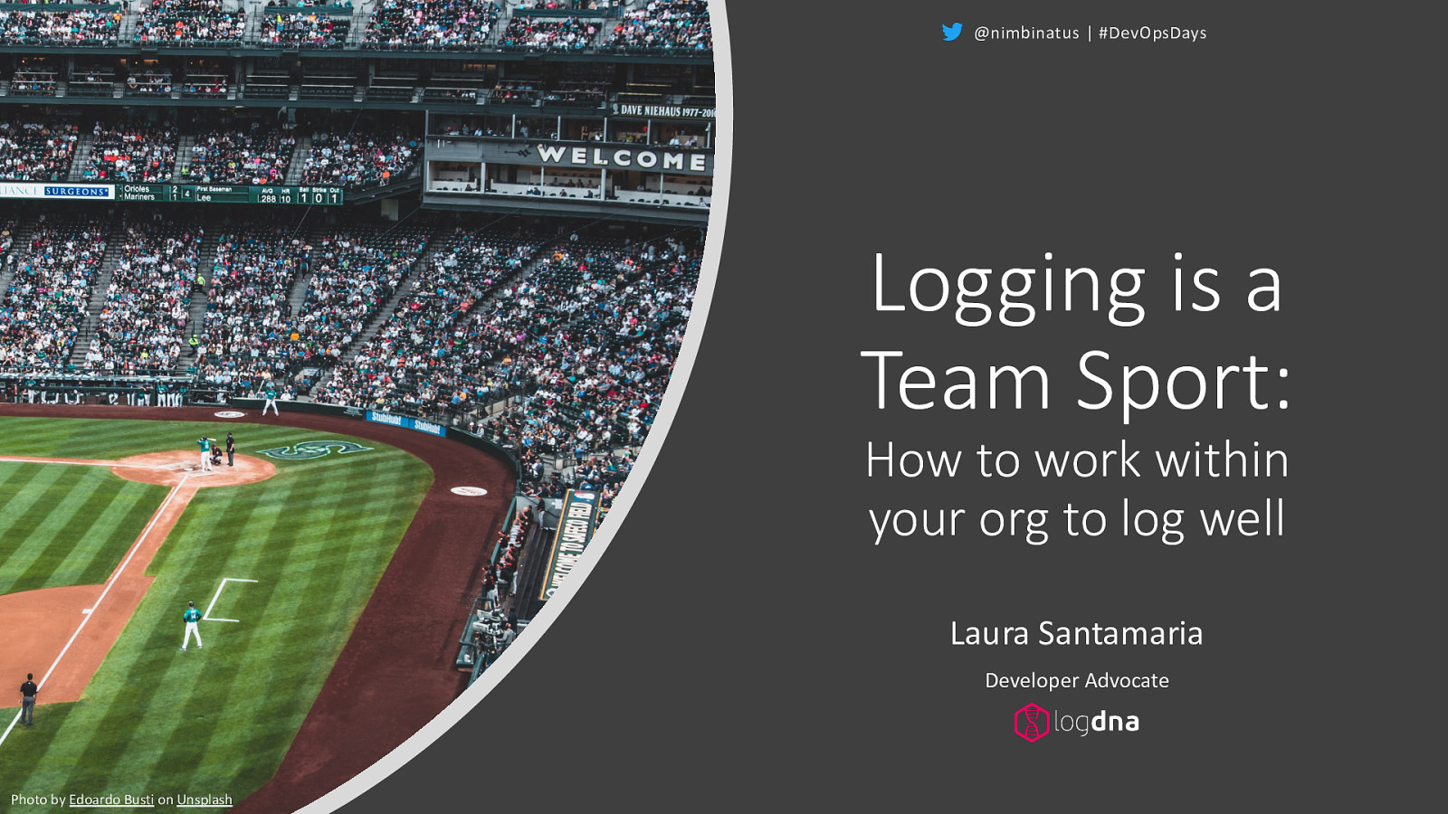 Logging is a Team Sport: How to work within your org to log well