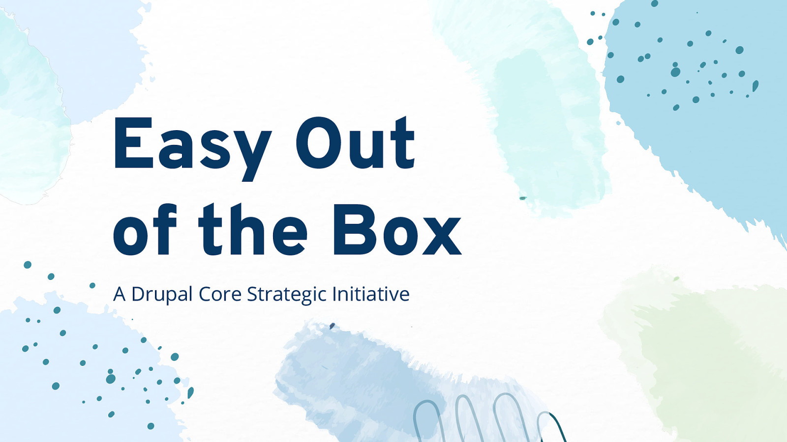Easy Out of the Box Keynote