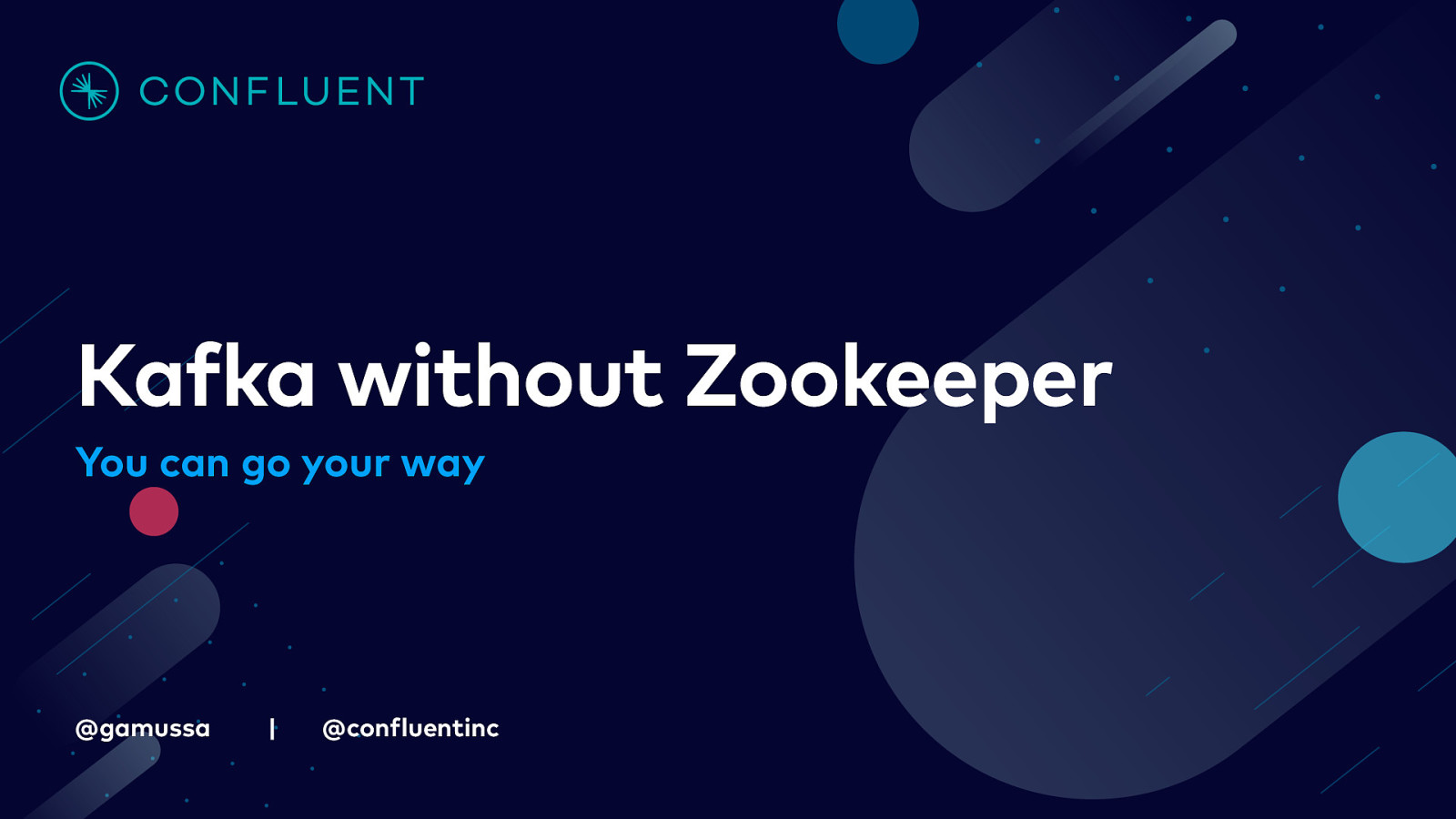 You can go your way: Kafka without Zookeeper