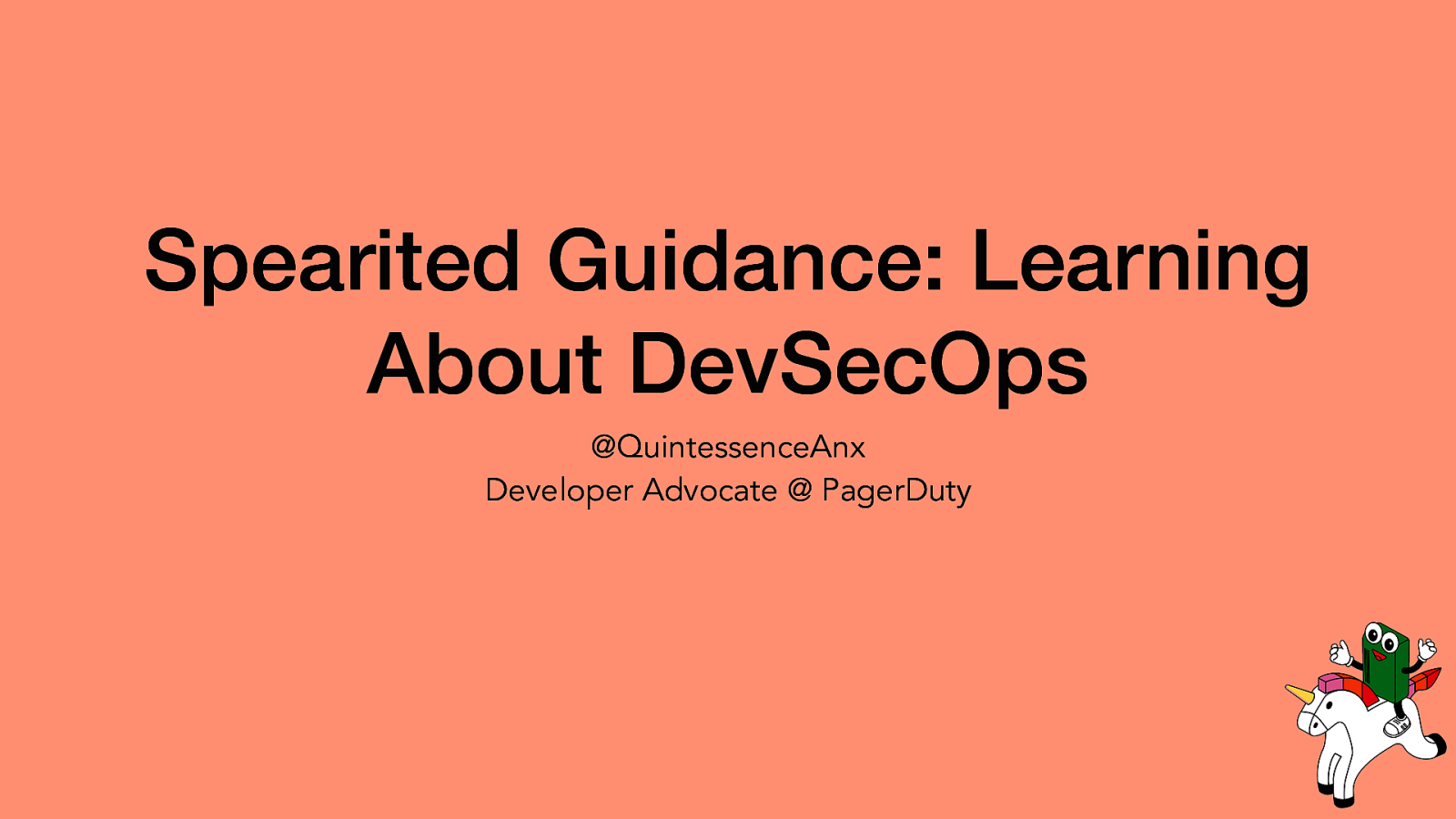 Spearited Guidance: Learning About DevSecOps