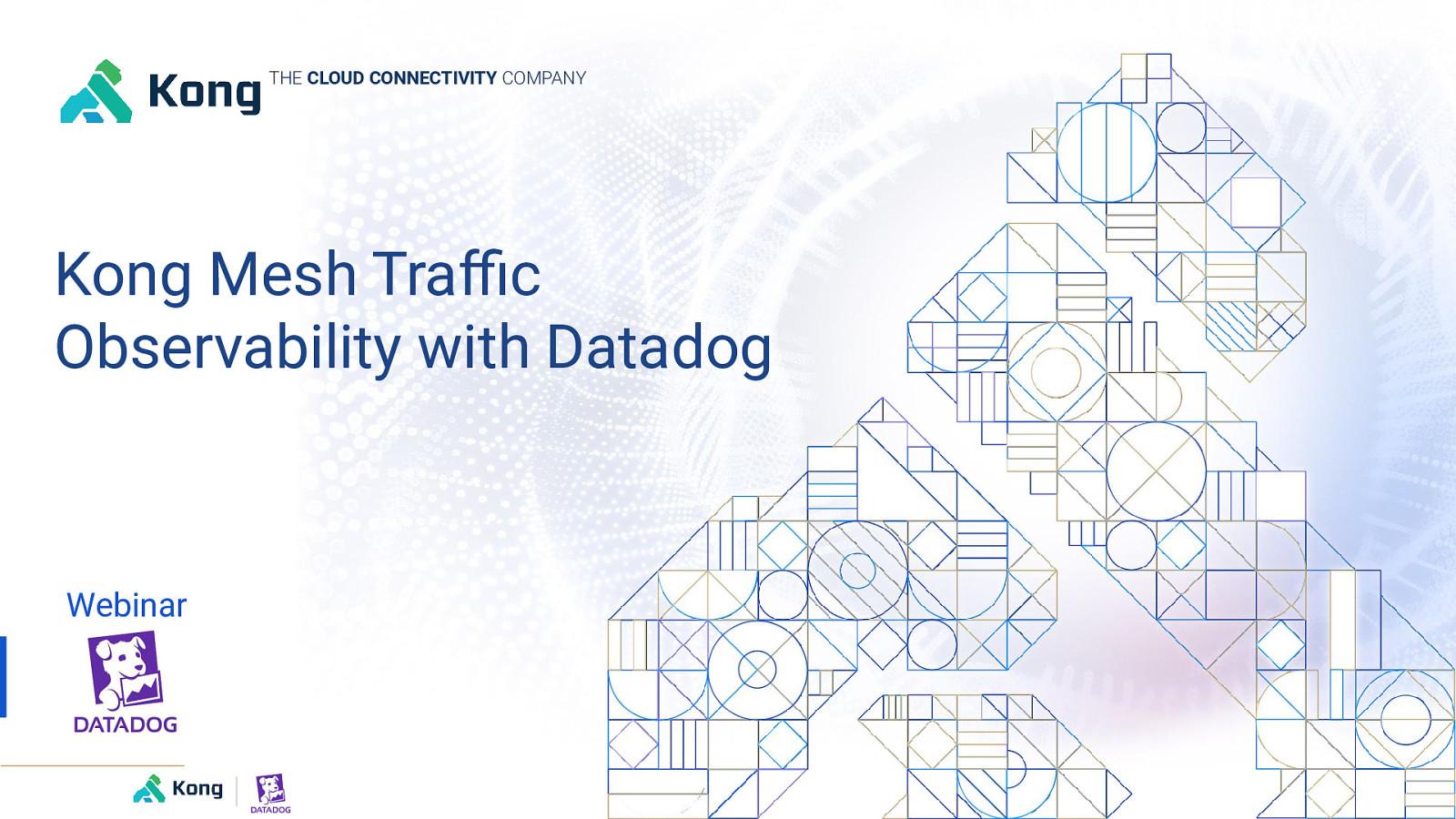 Kong Mesh Traffic Observability with Datadog