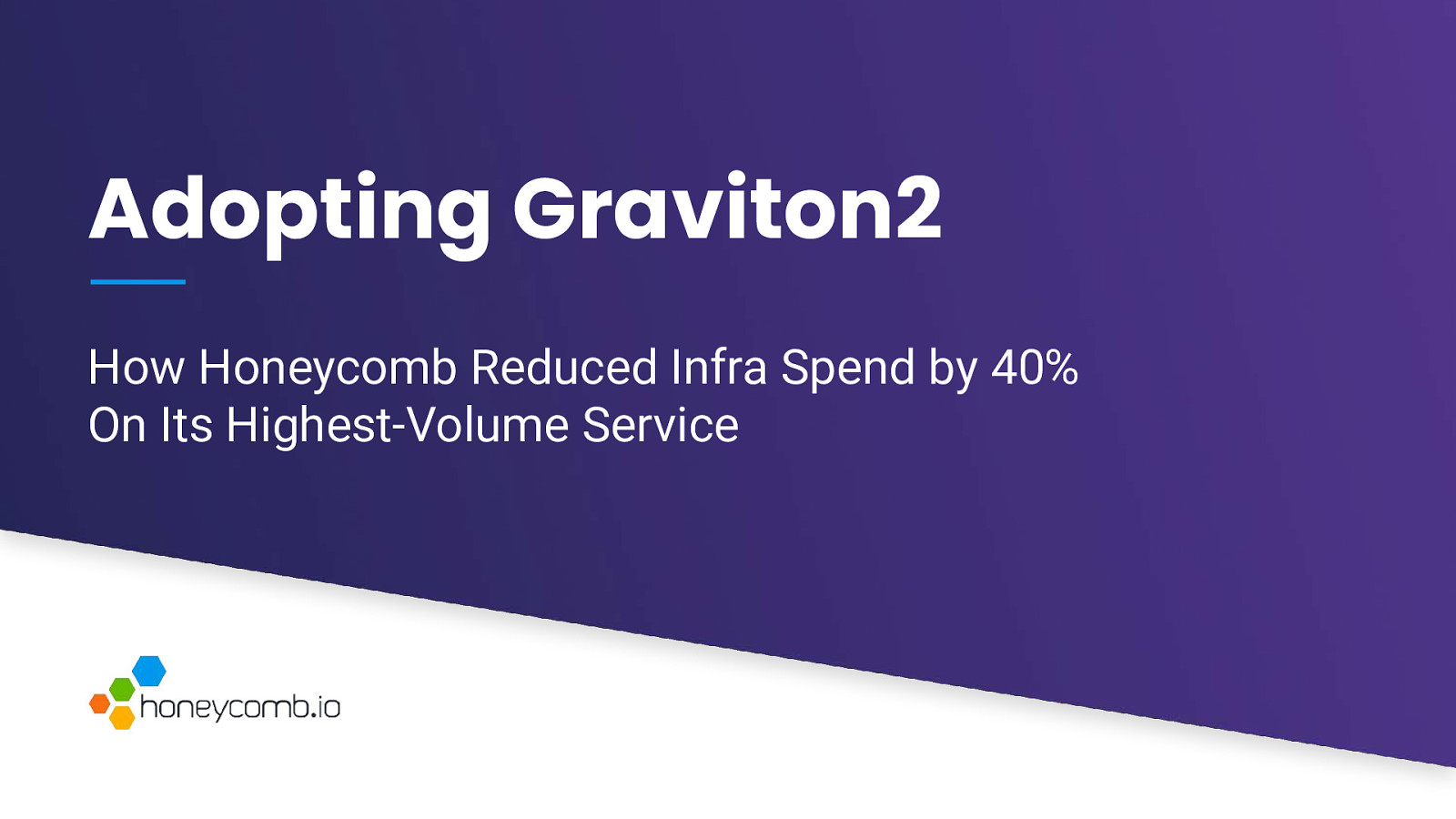 Adopting Graviton2: How Honeycomb Reduced Infra Spend by 40% on Our Highest-Volume Service