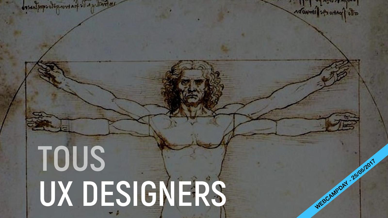 Tous UX designers !