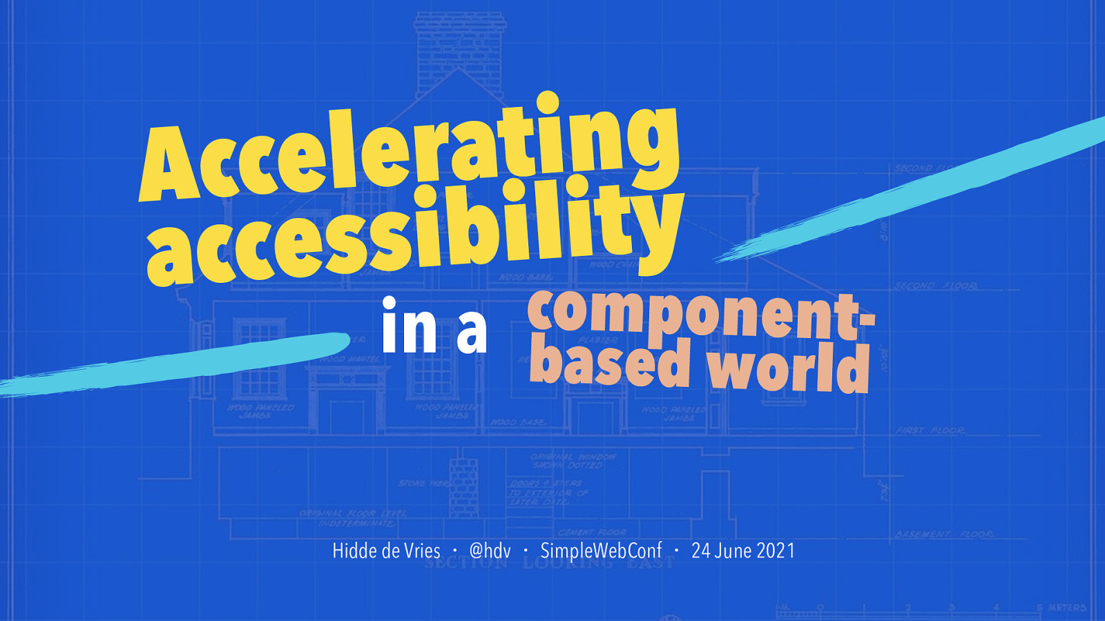 Accelerating accessibility in a component-based world
