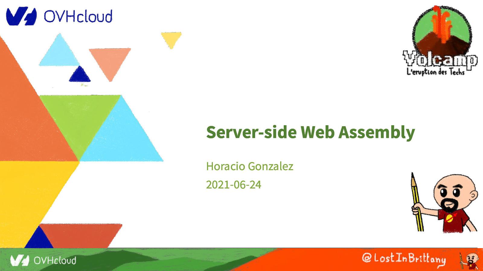Server-side WebAssembly