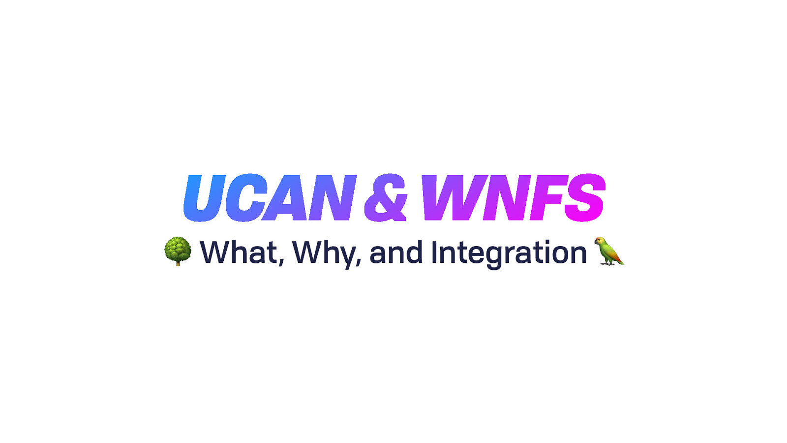UCAN for FileCoin