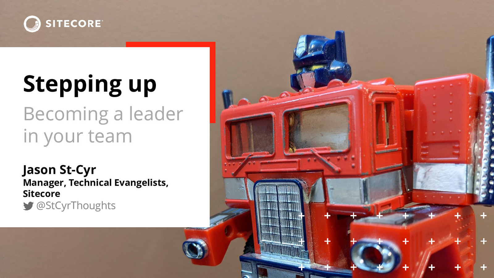 Stepping Up - Becoming a leader in your team