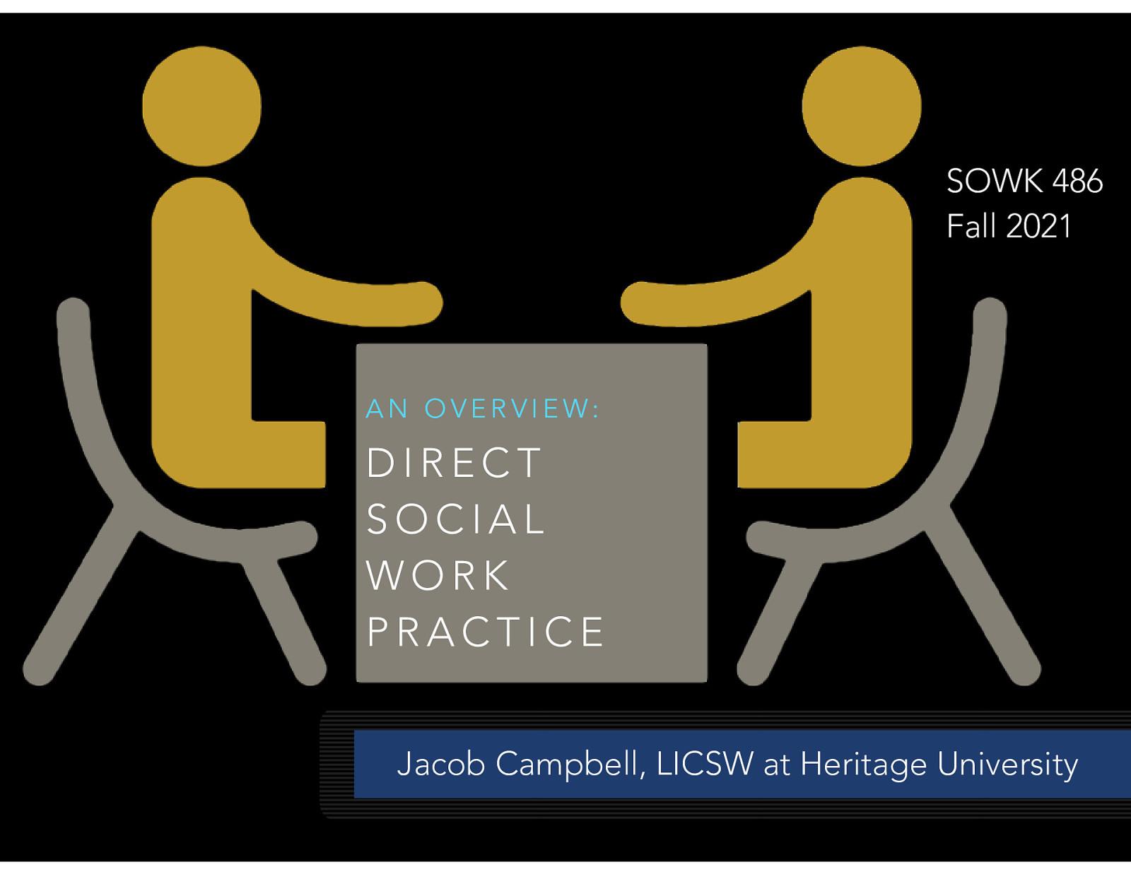 SOWK 486 - Week 03 - Direct Social Work Practice