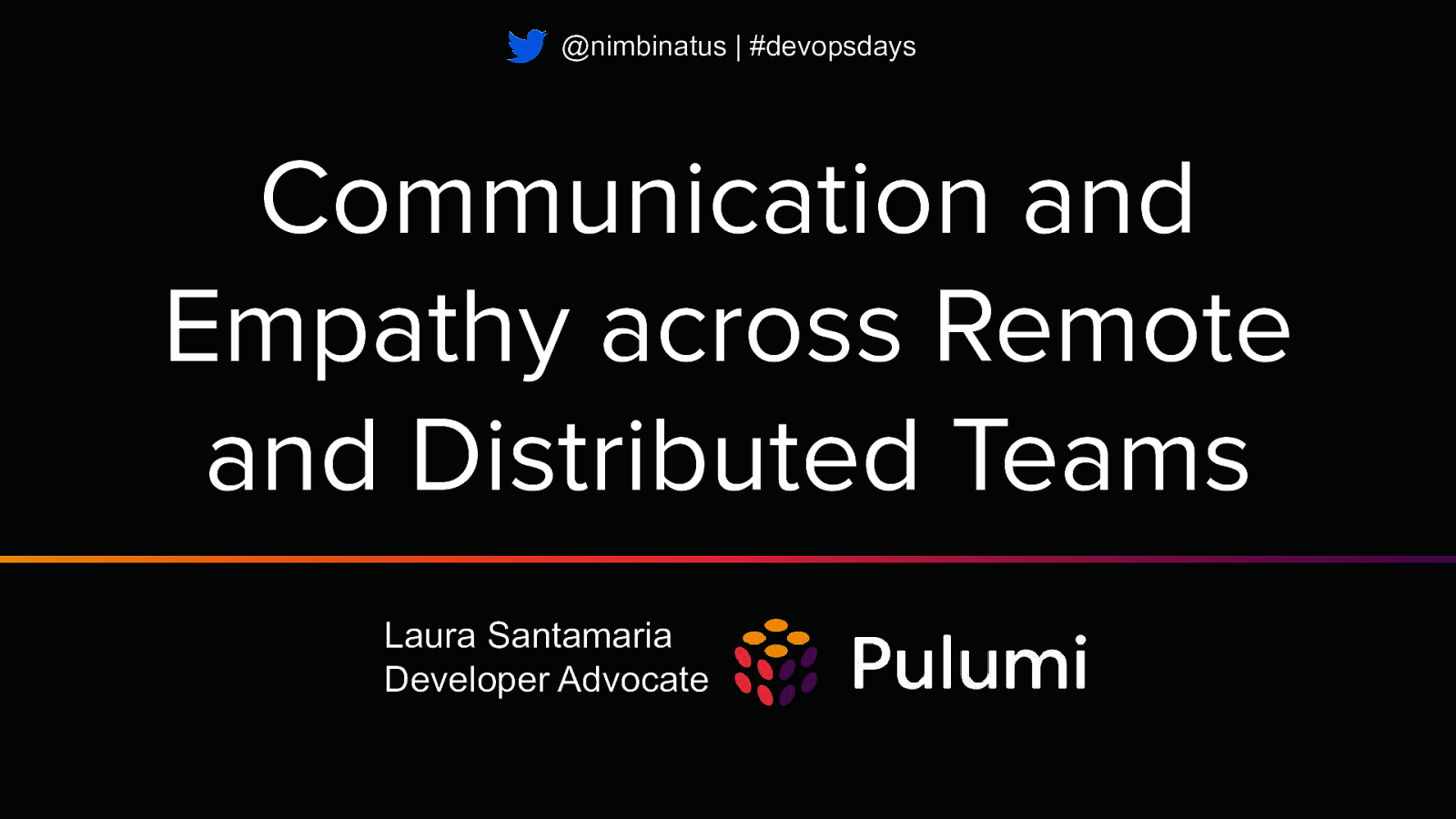 Communication and Empathy across Remote and Distributed Teams