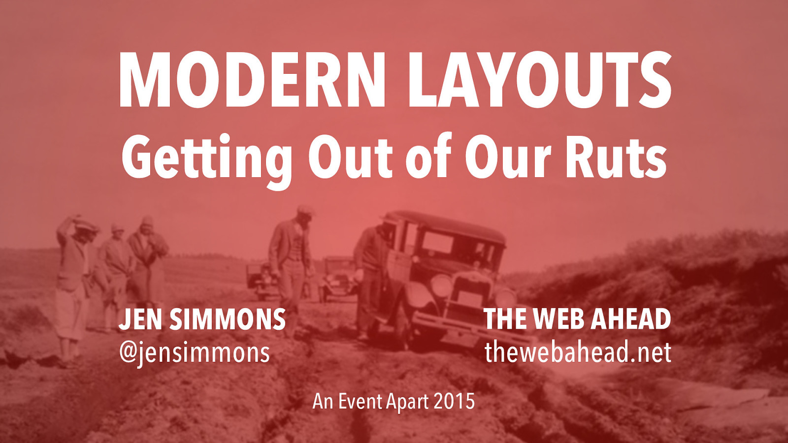 Modern Layouts: Getting Out of Our Ruts