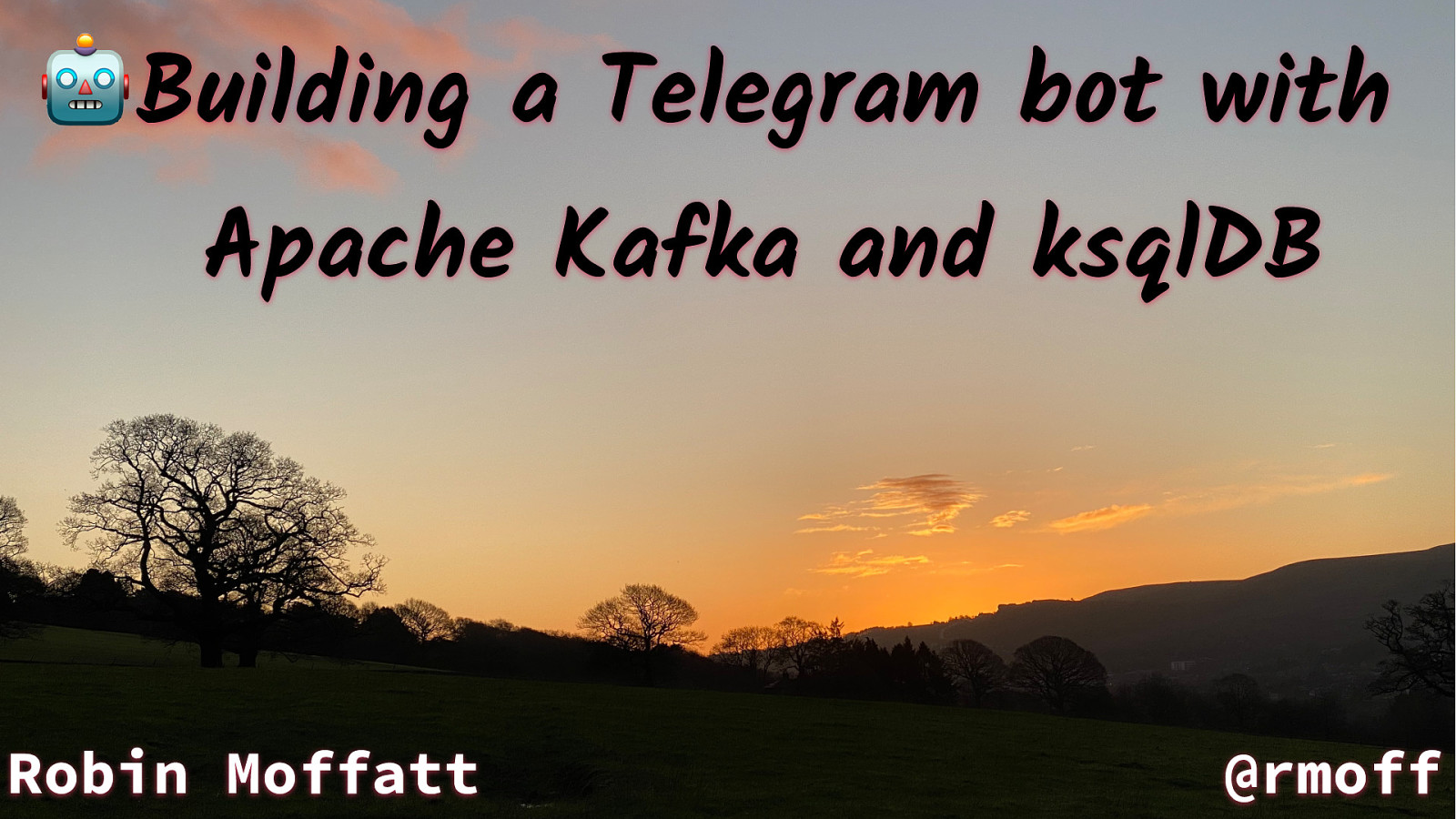 🤖 Building a Telegram bot with Apache Kafka and ksqlDB