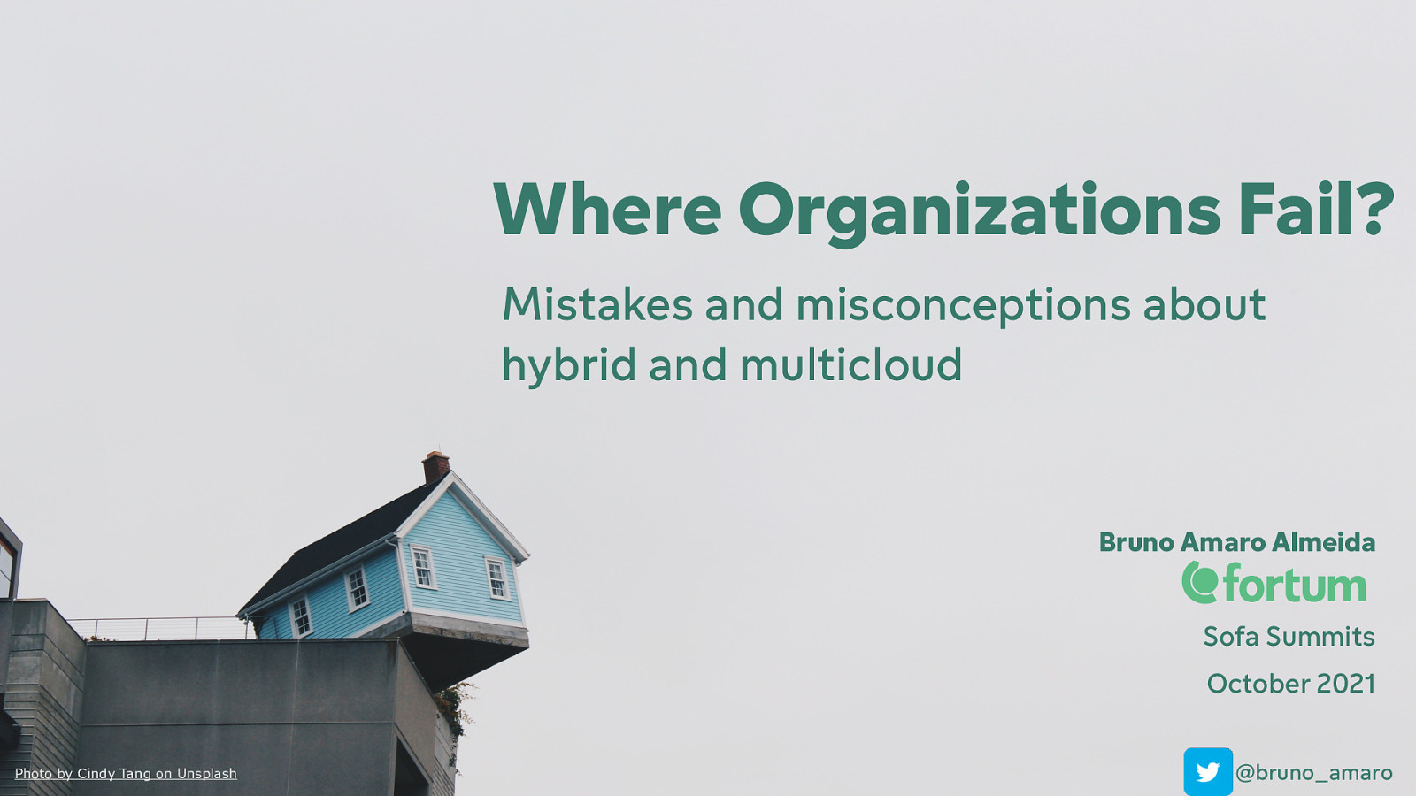 Where Organisations Fail? Mistakes & Misconceptions About Hybrid & Multi-Cloud