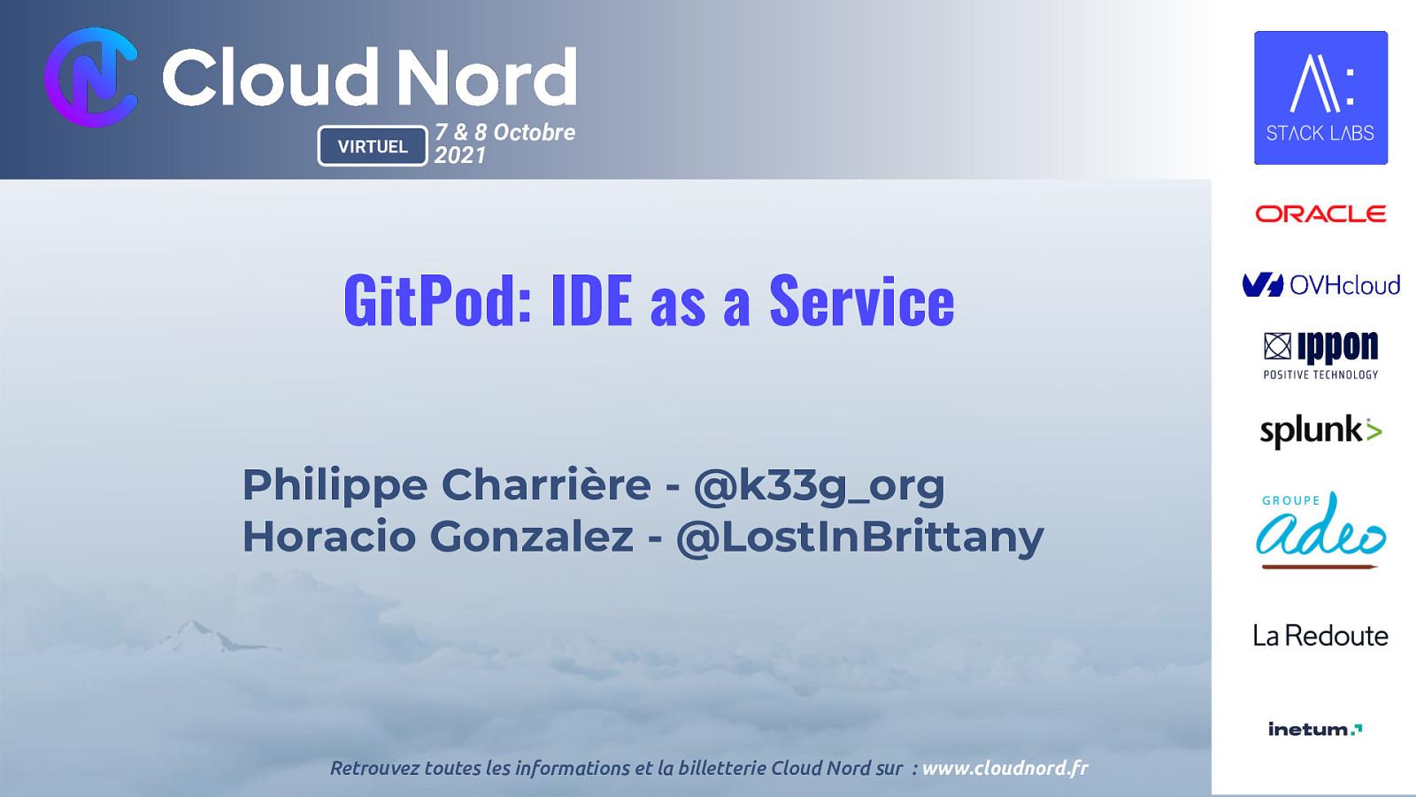 GitPod : IDE as a service, ou comment ne pas acheter un MacBook Pro à 6000 € et être heureux