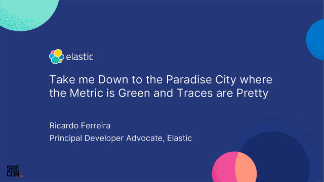 Take me Down to the Paradise City Where the Metric is Green and Traces are Pretty