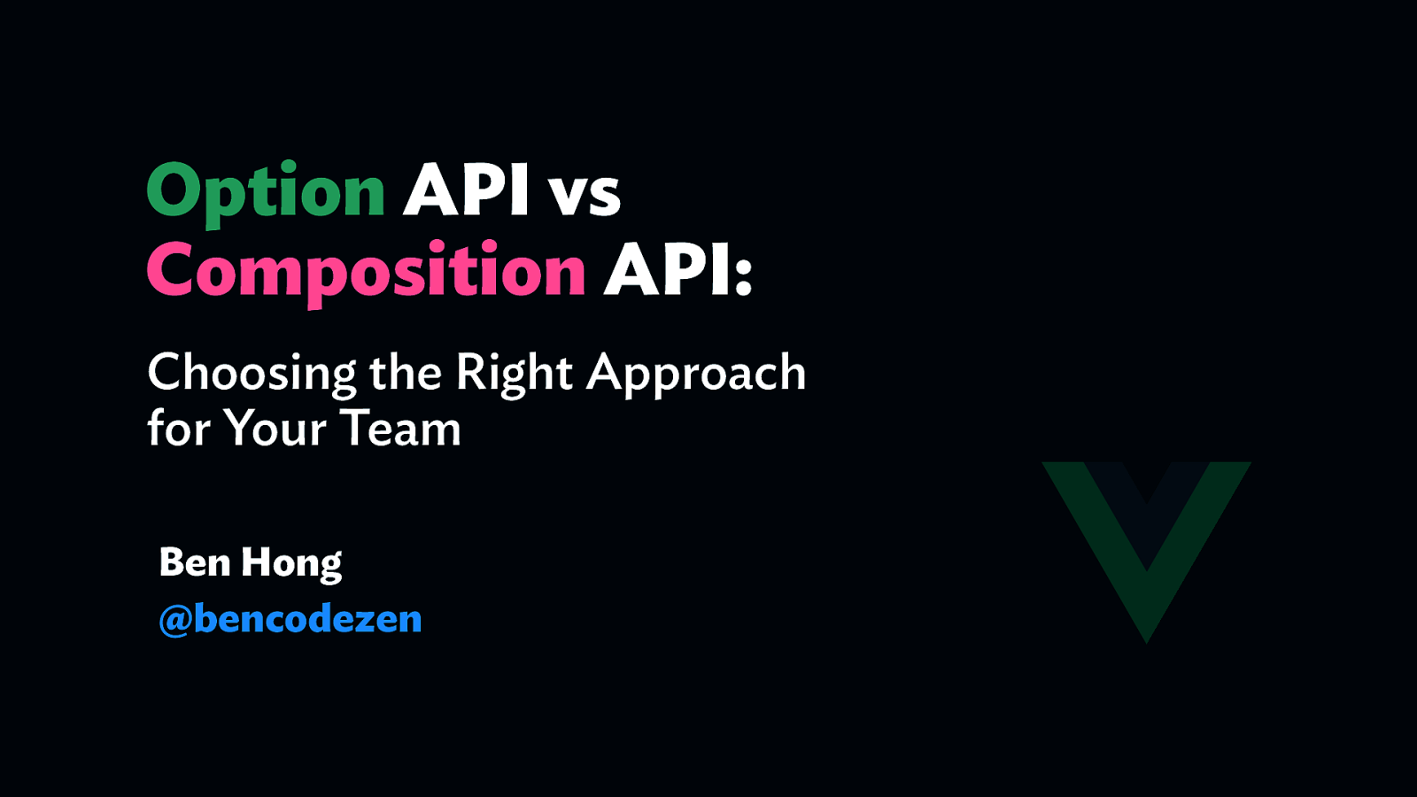 Options API vs Composition API: Choosing the Right Approach for Your Team