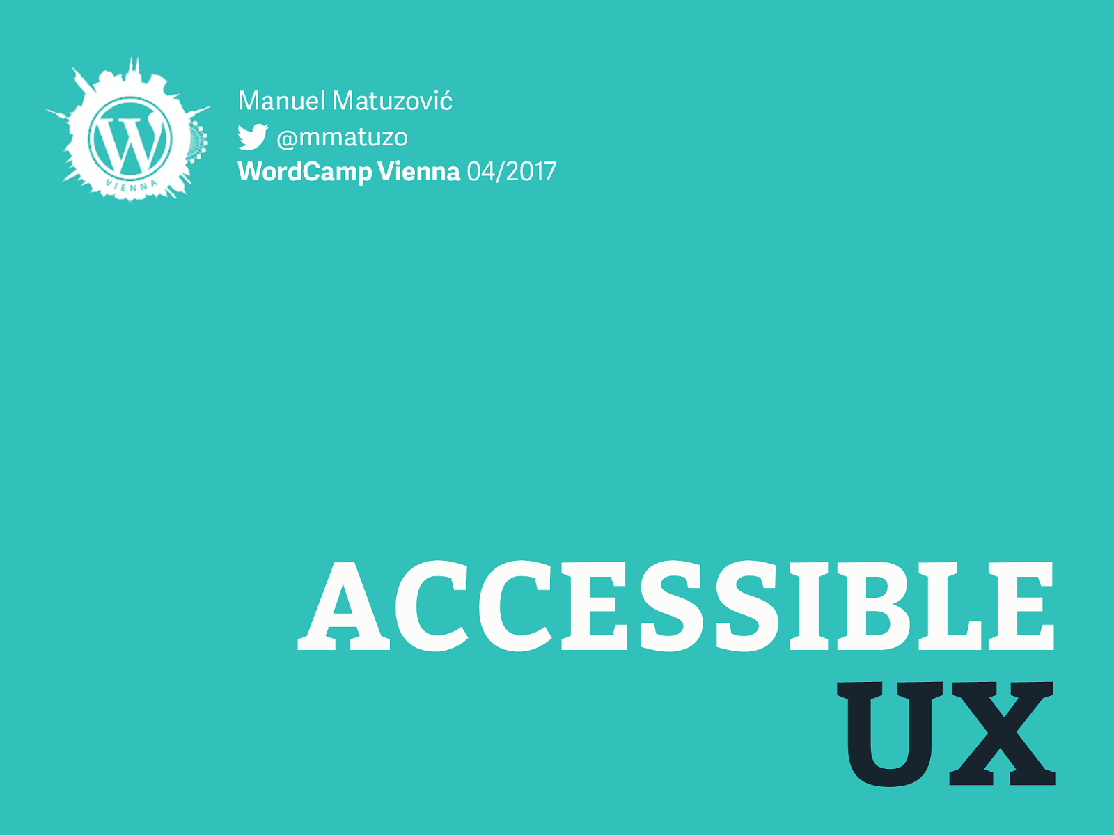 Accessible UX