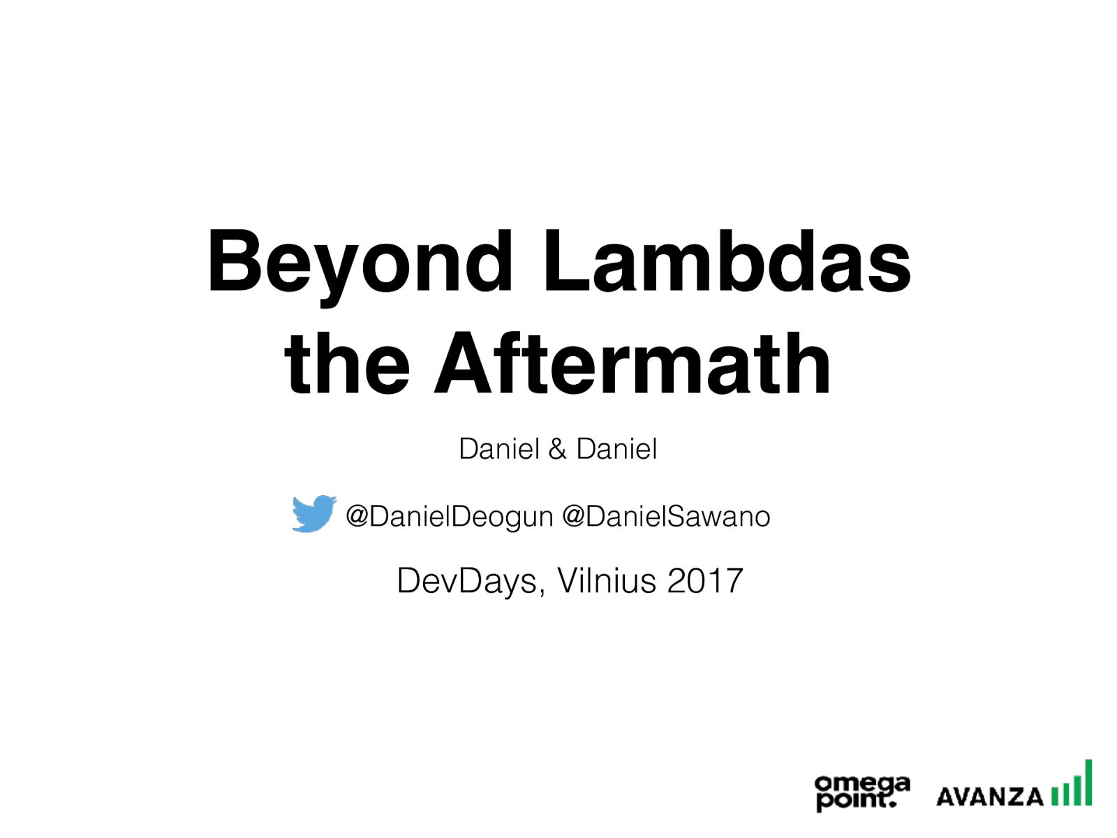 Opening Keynote: Beyond Lambdas, the Aftermath