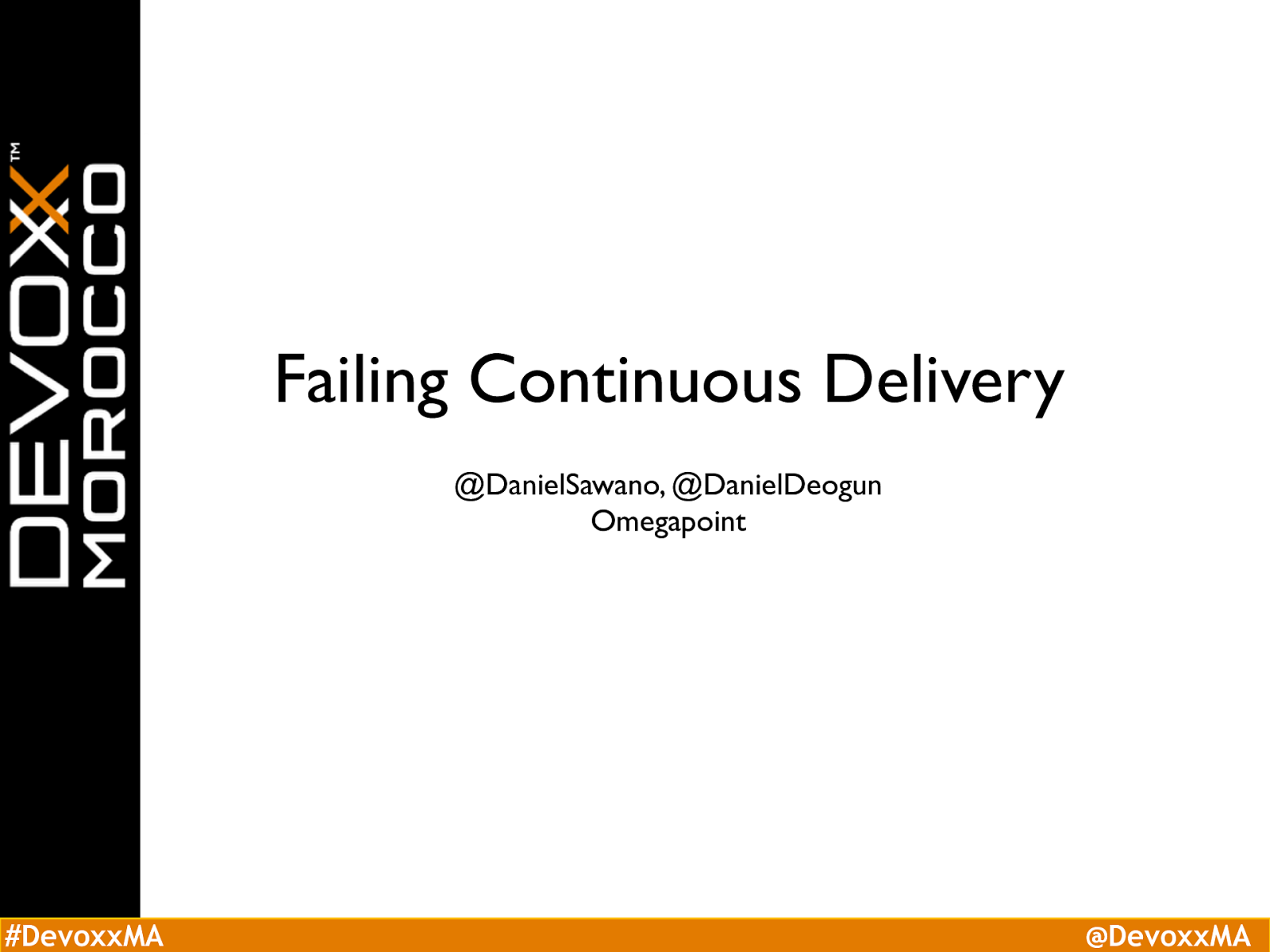 Failing Continuous Delivery