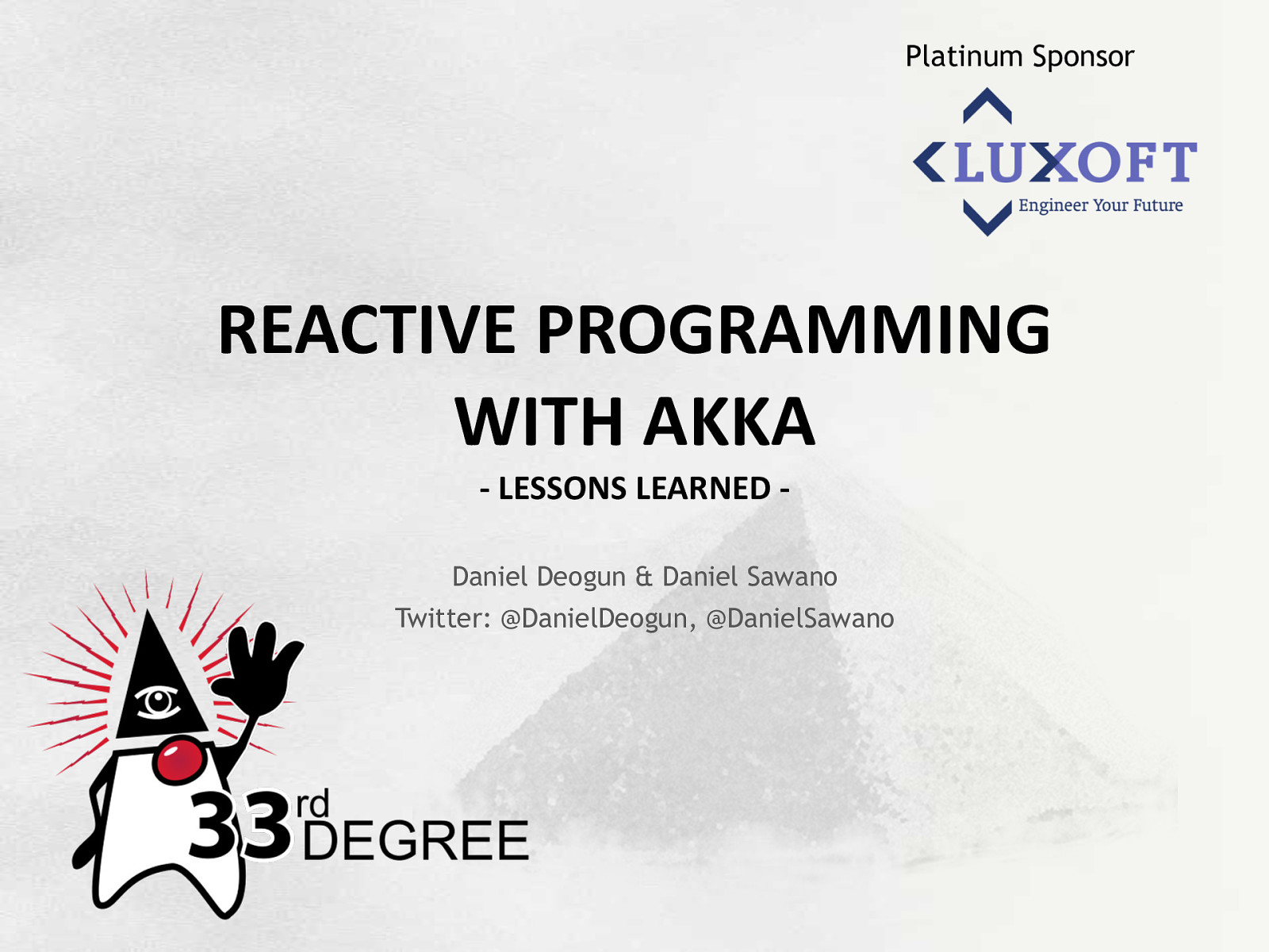 Reactive Programming With Akka - Lessons Learned